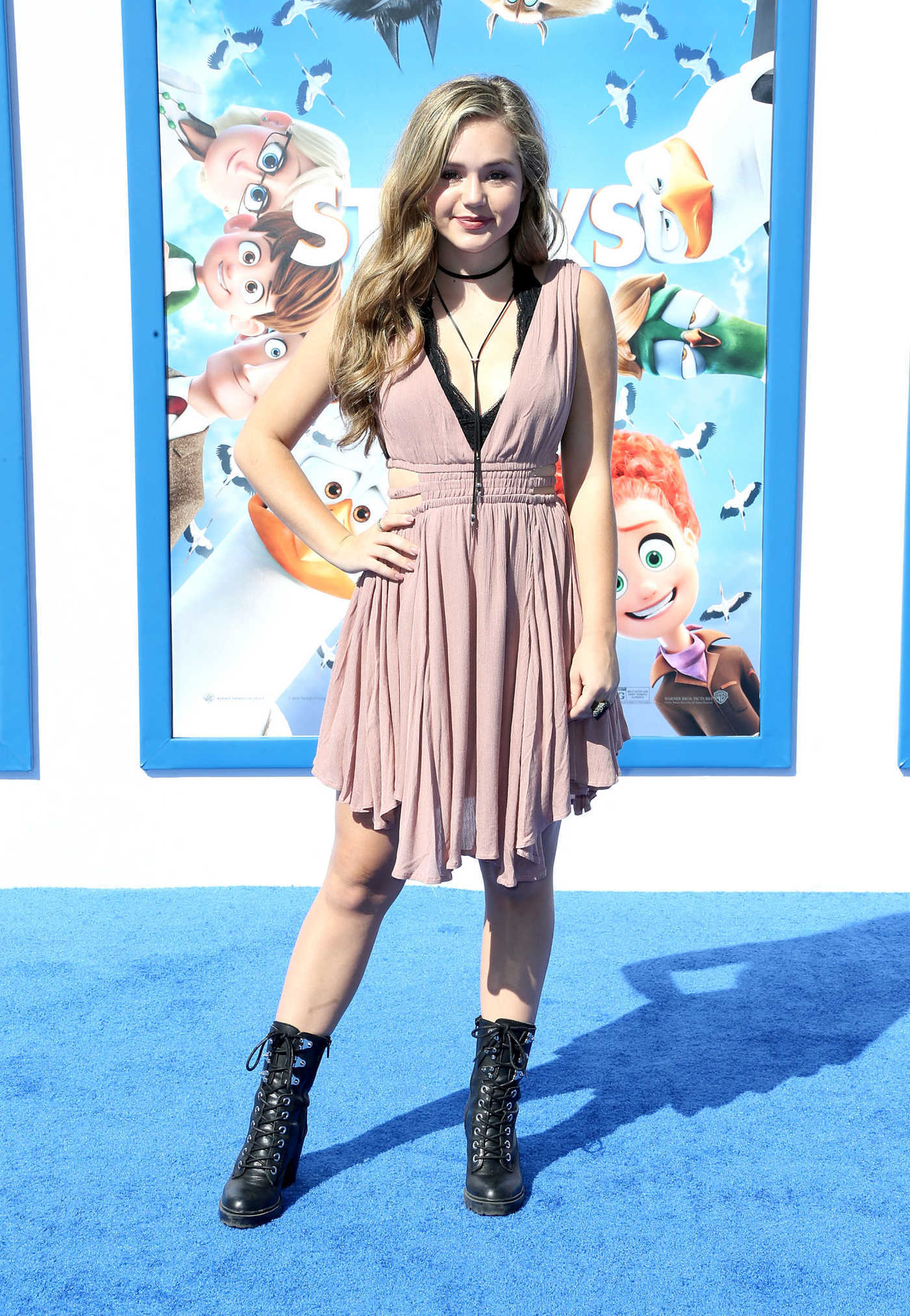 Brec Bassinger at the Storks Premiere in Los Angeles 09/17/2016