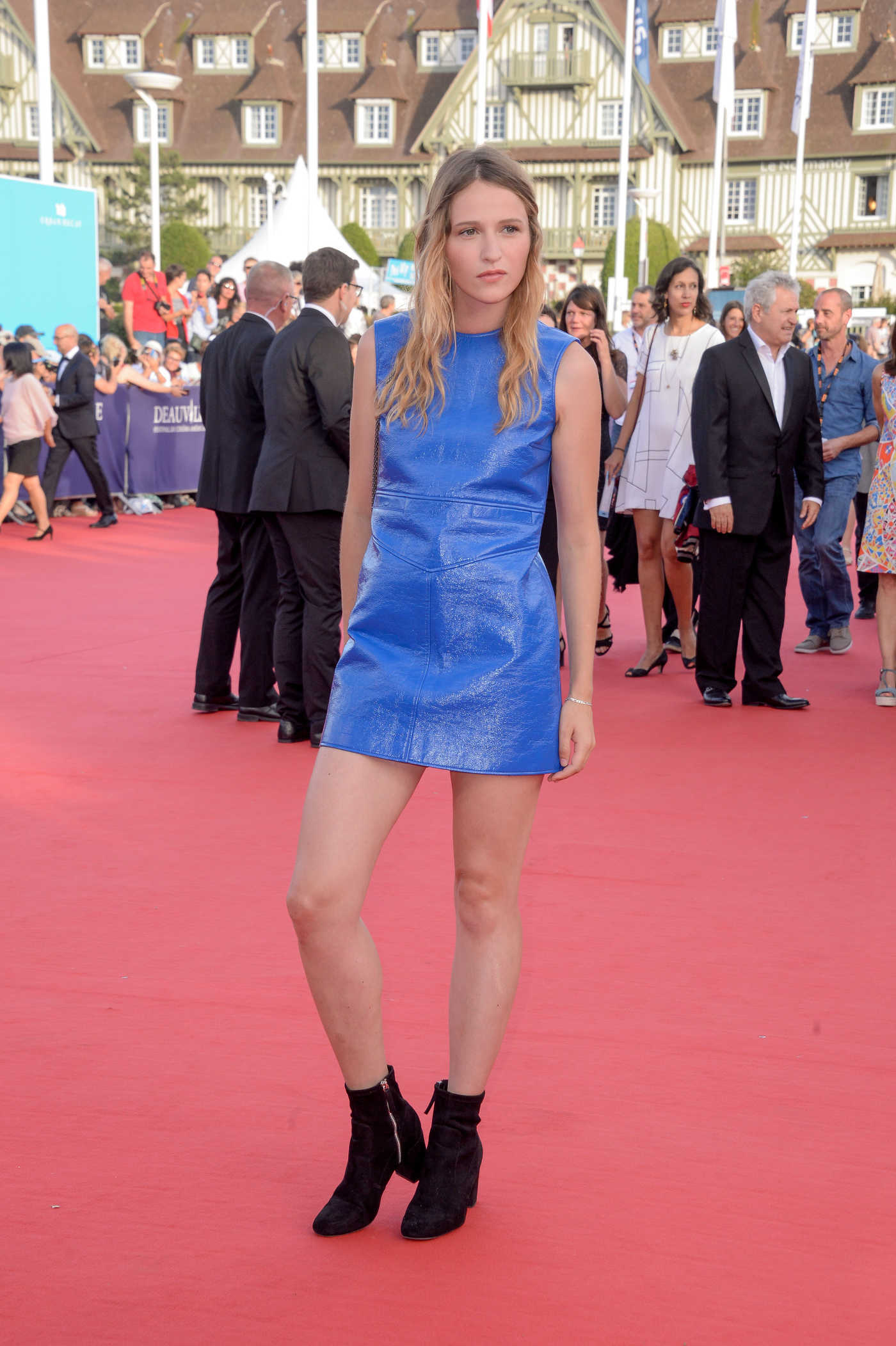Christa Theret at the Free State of Jones Premiere During the 42nd Deauville American Film Festival 09/03/2016