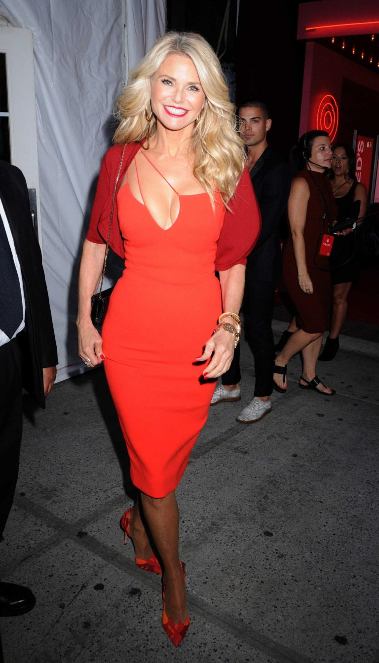 Christie Brinkley at the Target + IMG NYFW Kickoff Event at Moynihan Station in New York City 09/06/2016-1