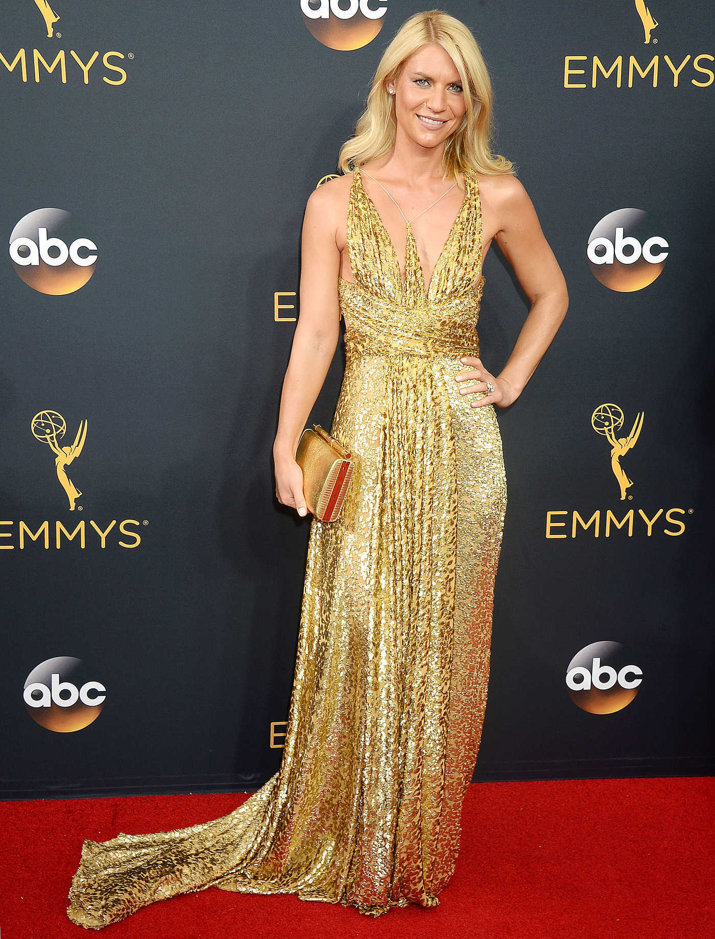Claire Danes at the 68th Emmy Awards in Los Angeles 09/18/2016