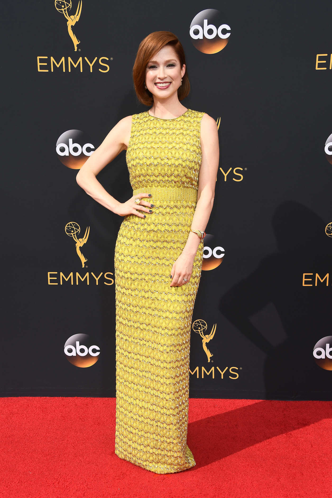 Ellie Kemper at the 68th Emmy Awards in Los Angeles 09/18/2016