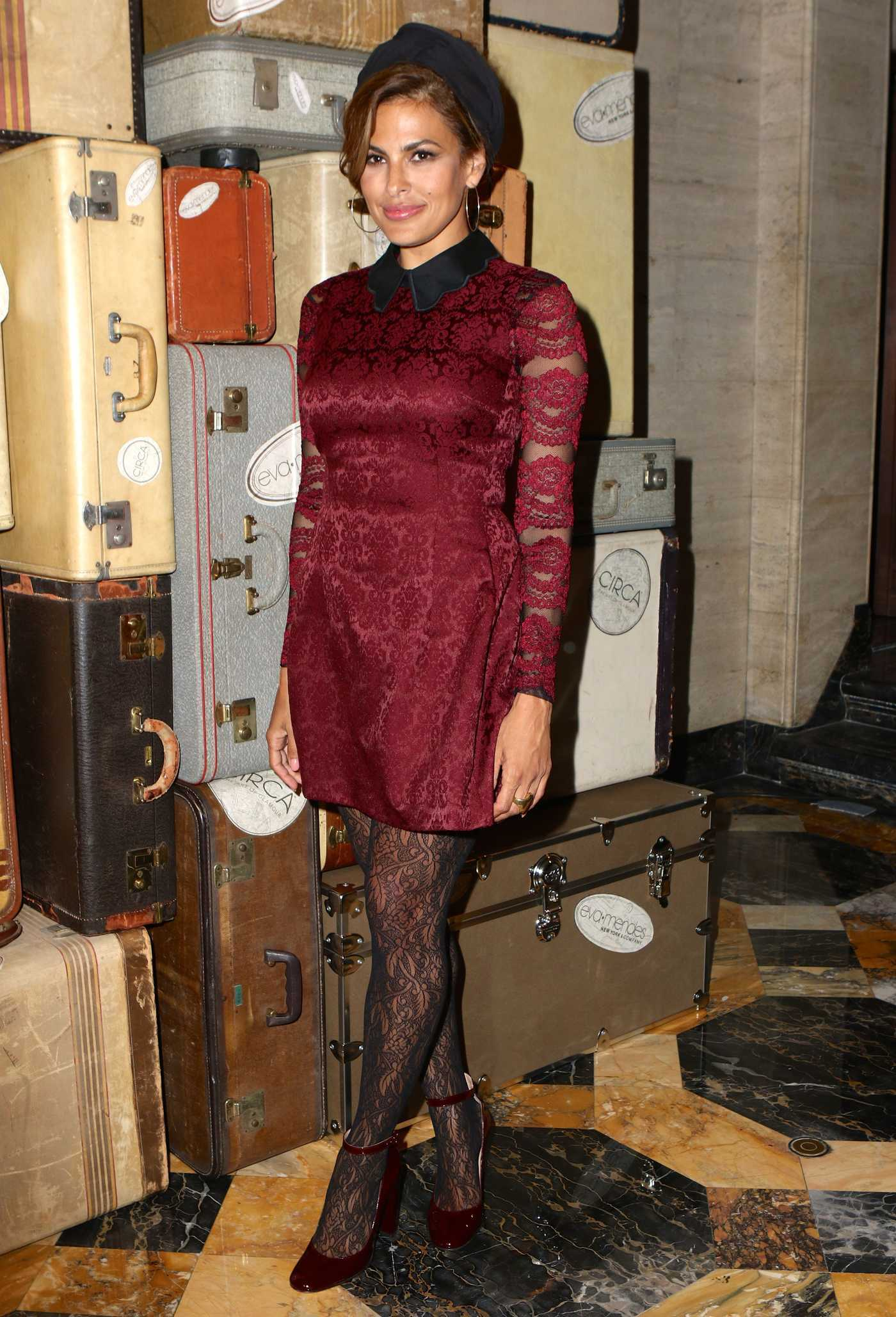 Eva Mendes at the New York and Company Front Row FW16 Runway Show 09/06/2016