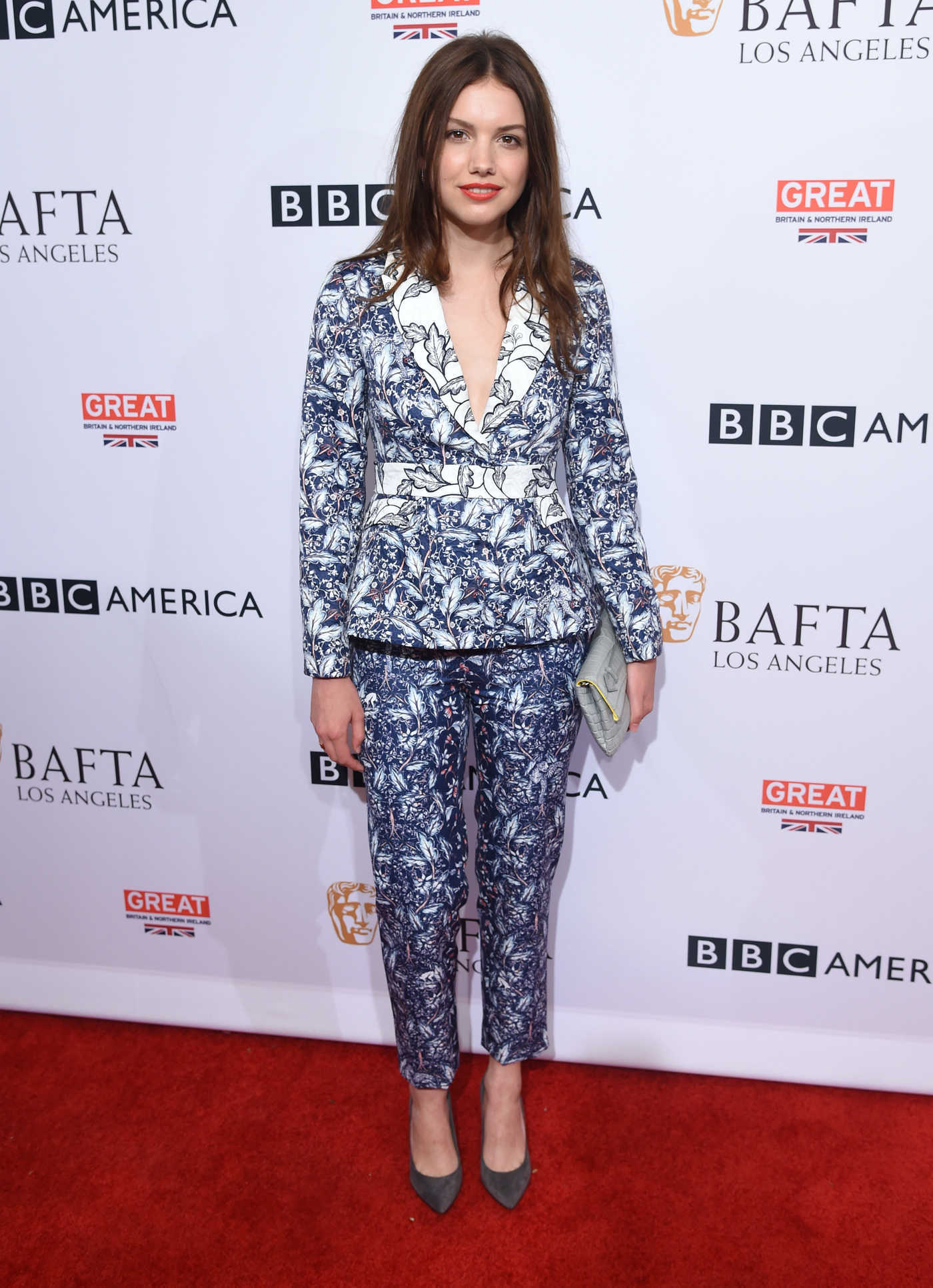 Hannah Murray at the BBC America BAFTA Los Angeles TV Tea Party in West Hollywood 09/17/2016