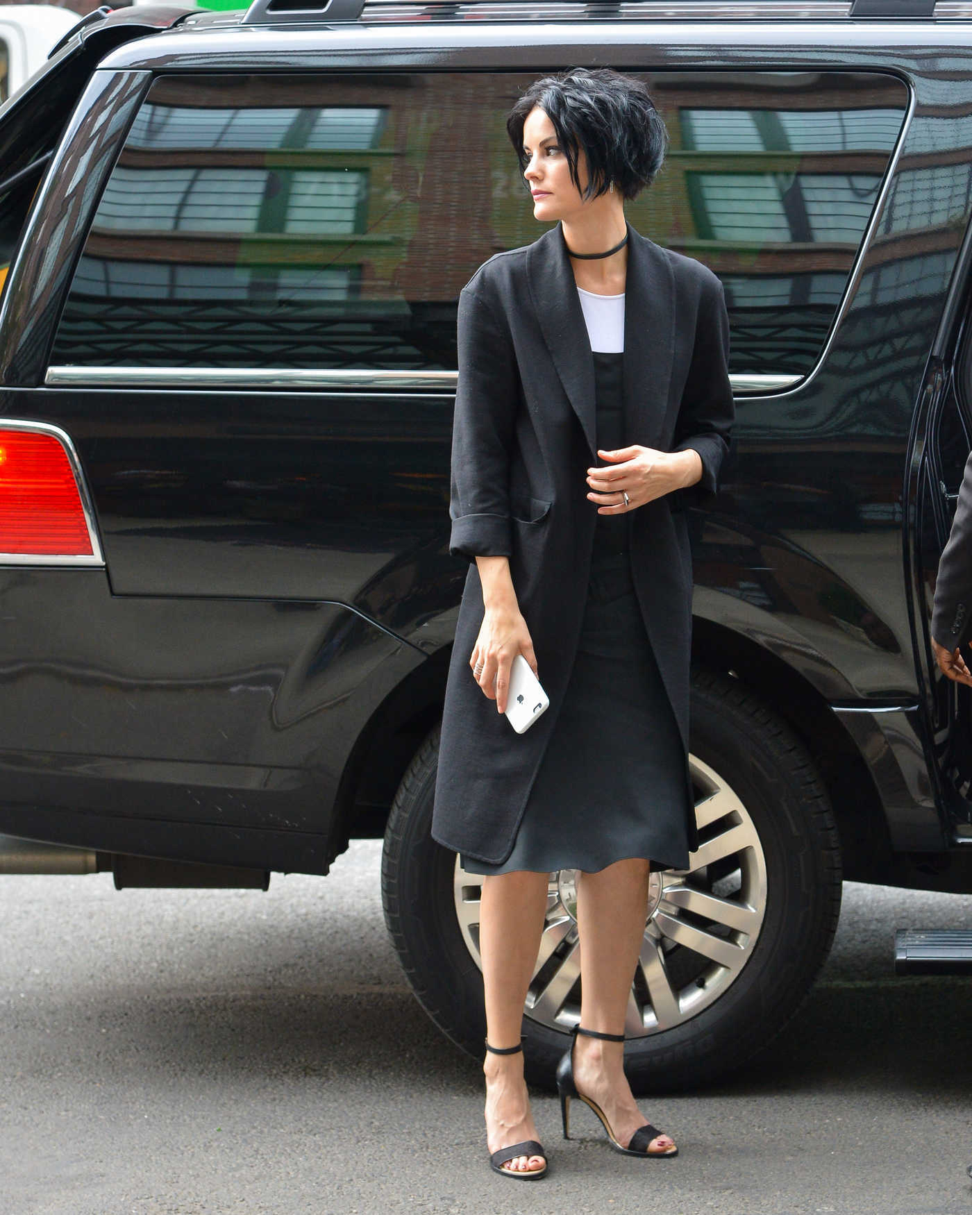 Jaimie Alexander Was Seen Out in New York City 09/29/2016
