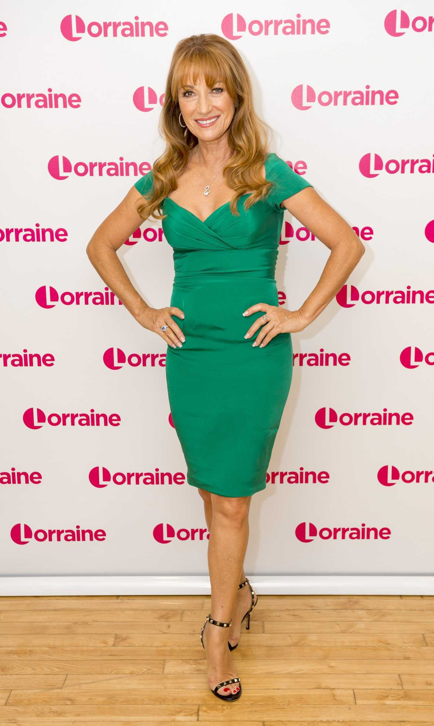 Jane Seymour at the Lorraine TV Show in London 09/15/2016