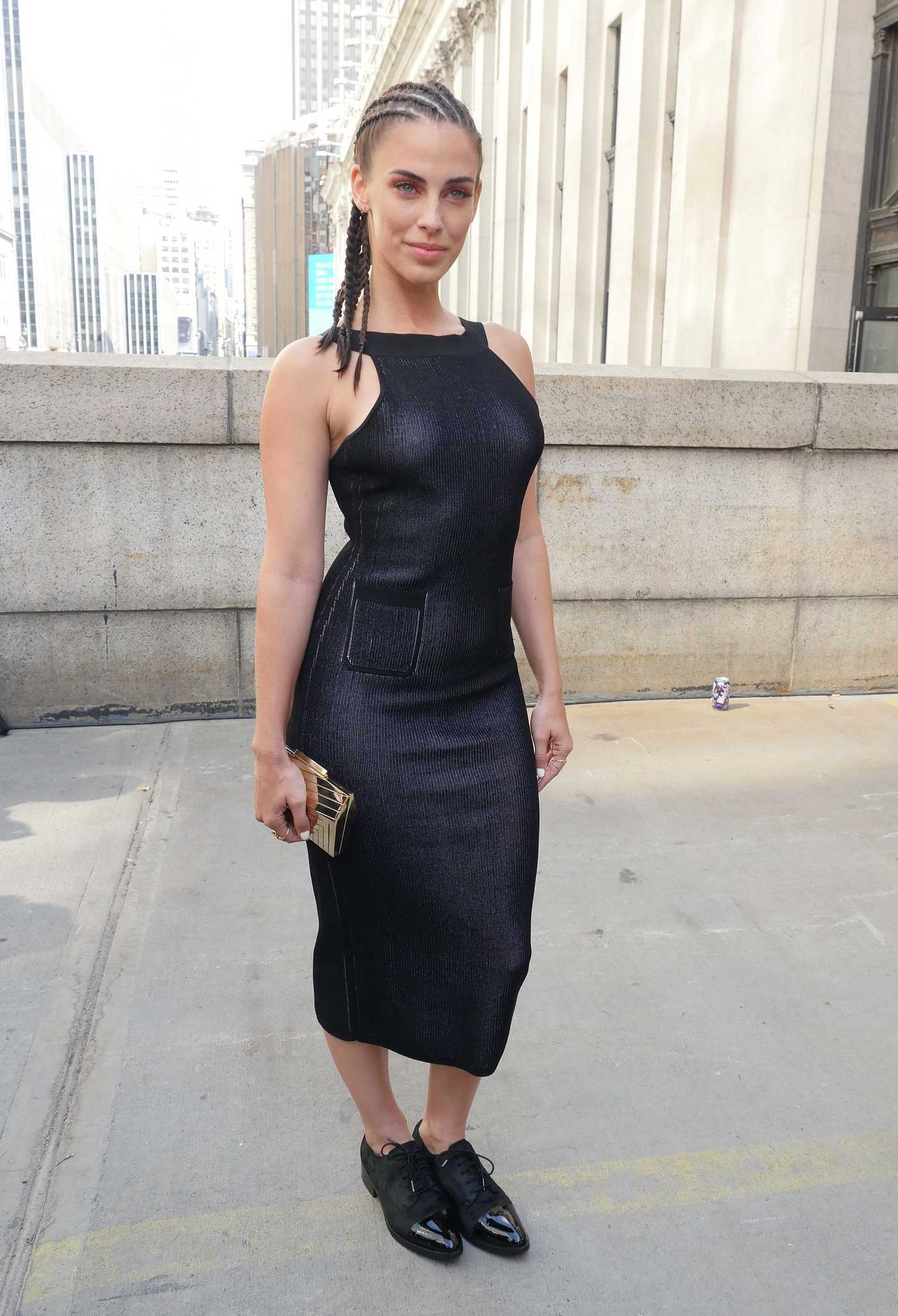 Jessica Lowndes at the Cushnie Et Ochs Fashion Show During New York Fashion Week 09/09/2016