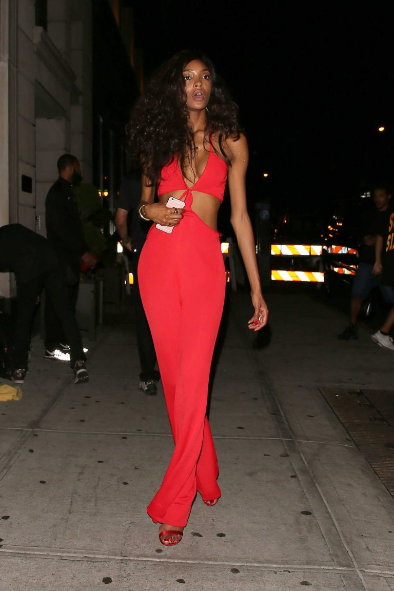 Jourdan Dunn Arrives at Beyonce's Birthday Party in NYC 09/05/2016-1