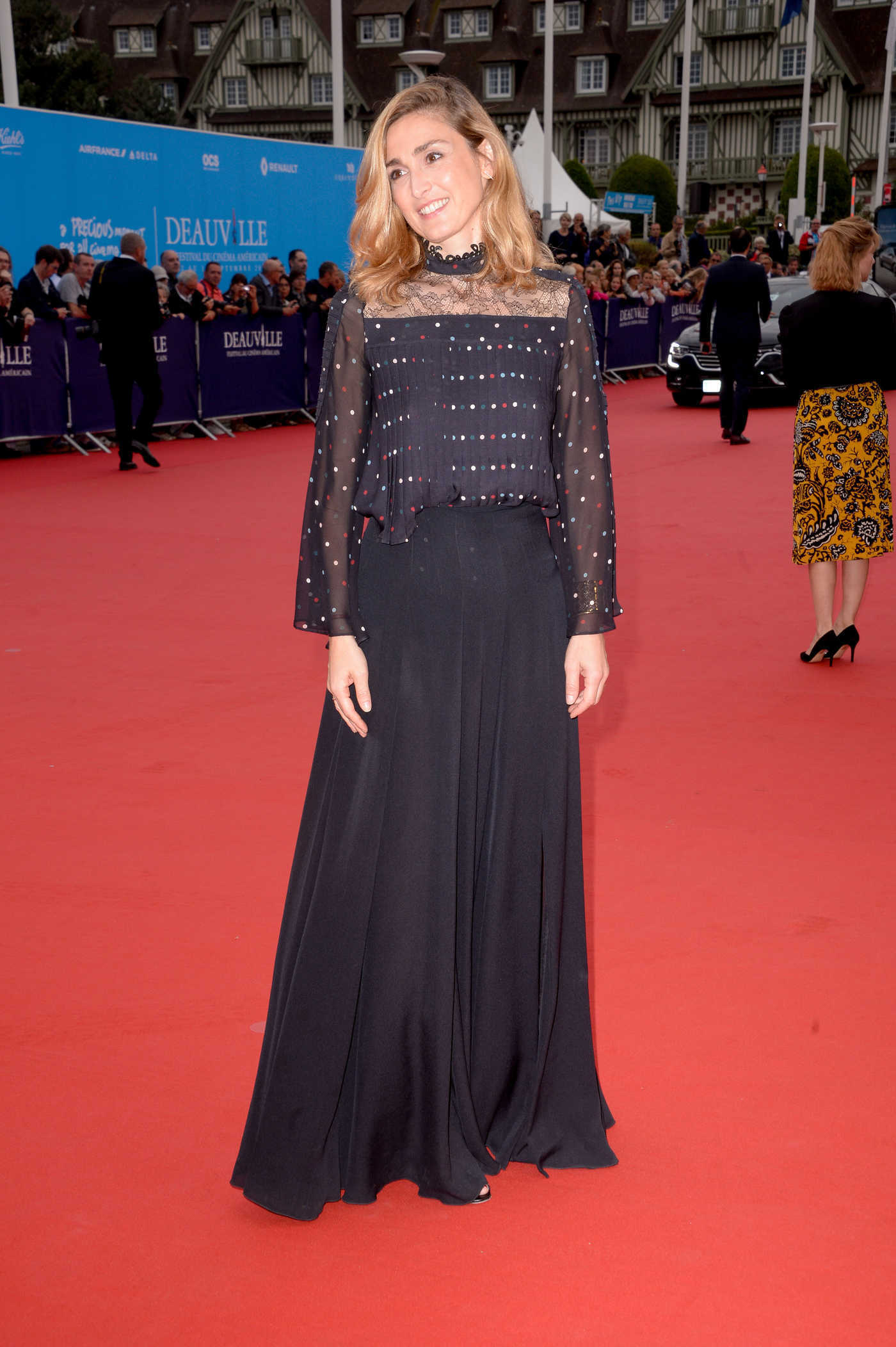 Julie Gayet at The Infiltrator Premiere During 42nd Deauville American Film Festival 09/02/2016