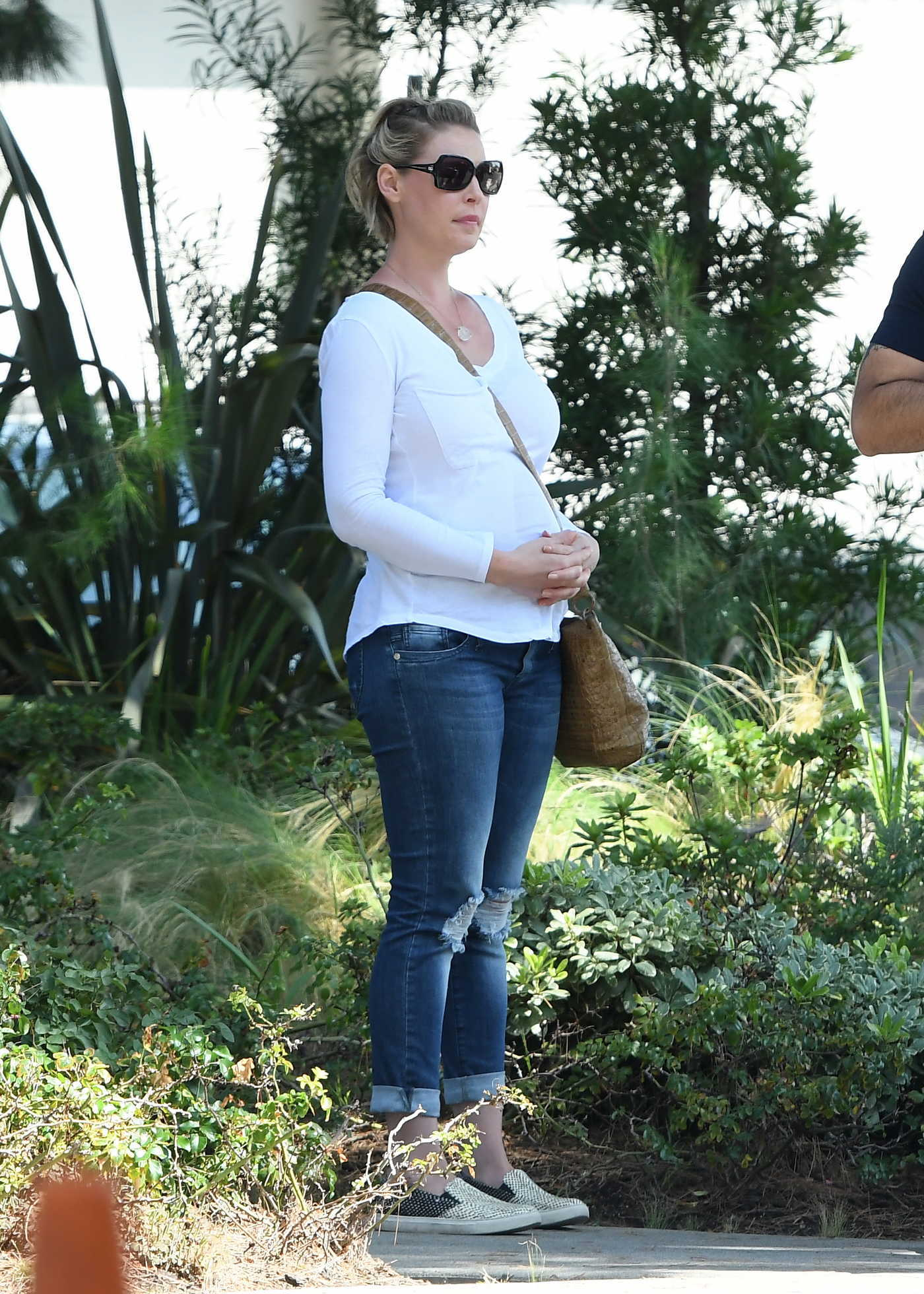 Katherine Heigl at Messhall Kitchen Restaurant in Los Angeles 09/05/2016