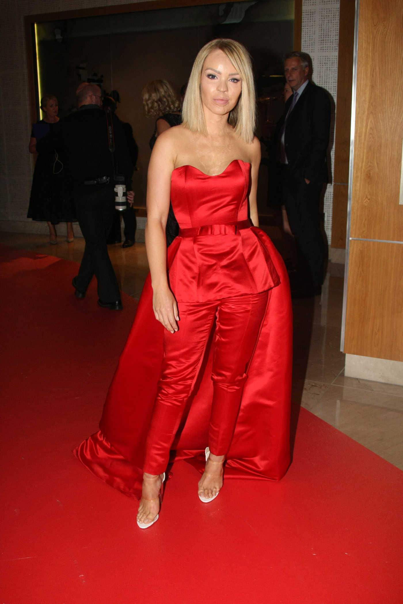 Katie Piper at the 2016 Pride of Ireland Awards 09/12/2016