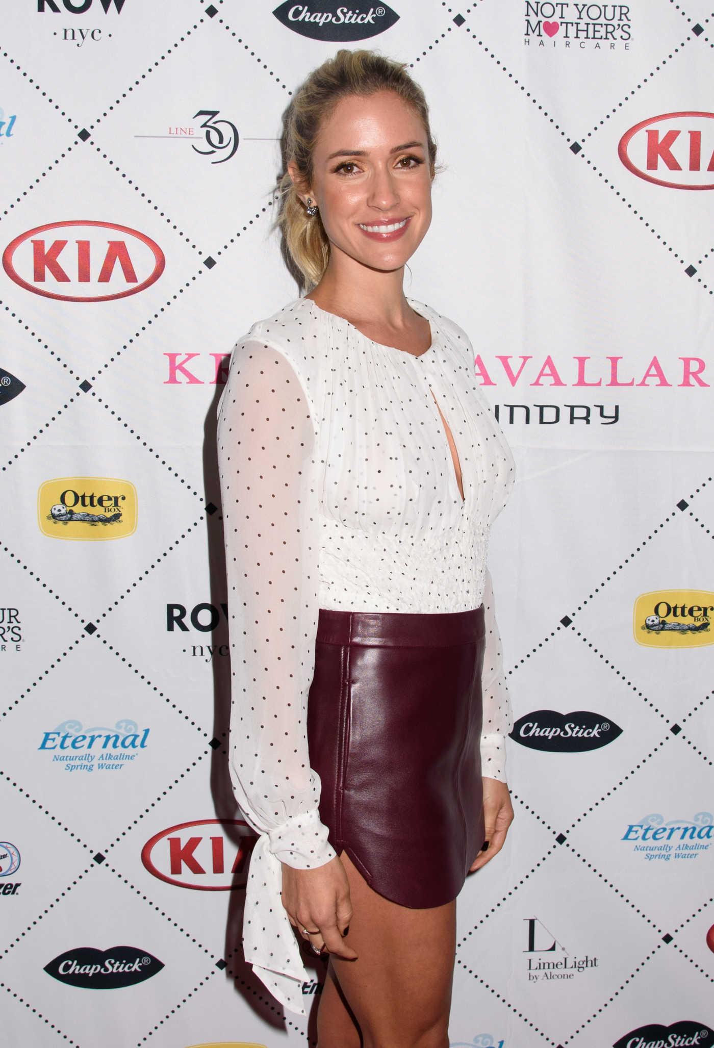 Kristin Cavallari at the Kia Style 360 Kristin Cavallari Fashion Presentation During New York Fashion Week 09/15/2016