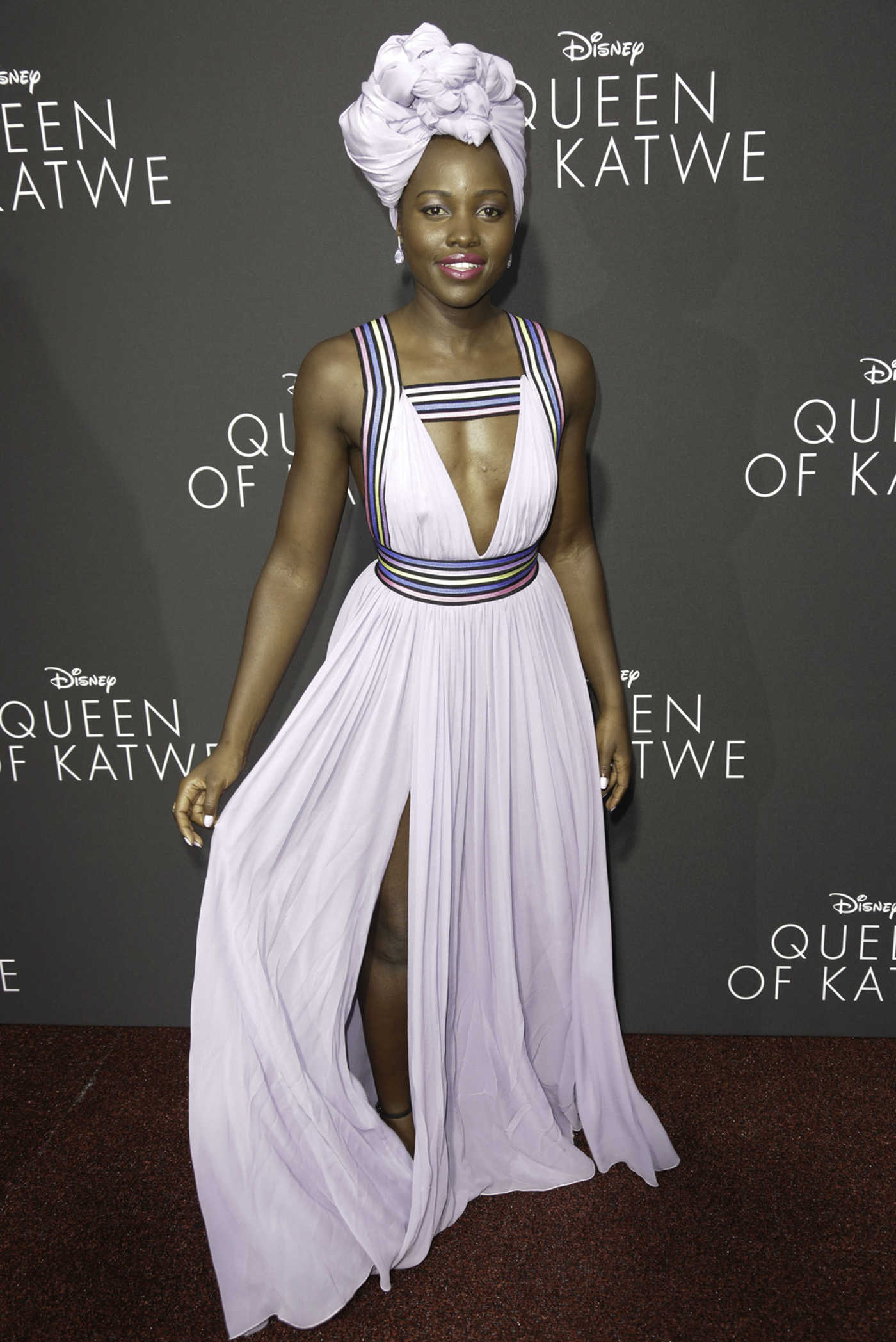 Lupita Nyongo at the Queen of Katwe LA Premiere 09/21/2016