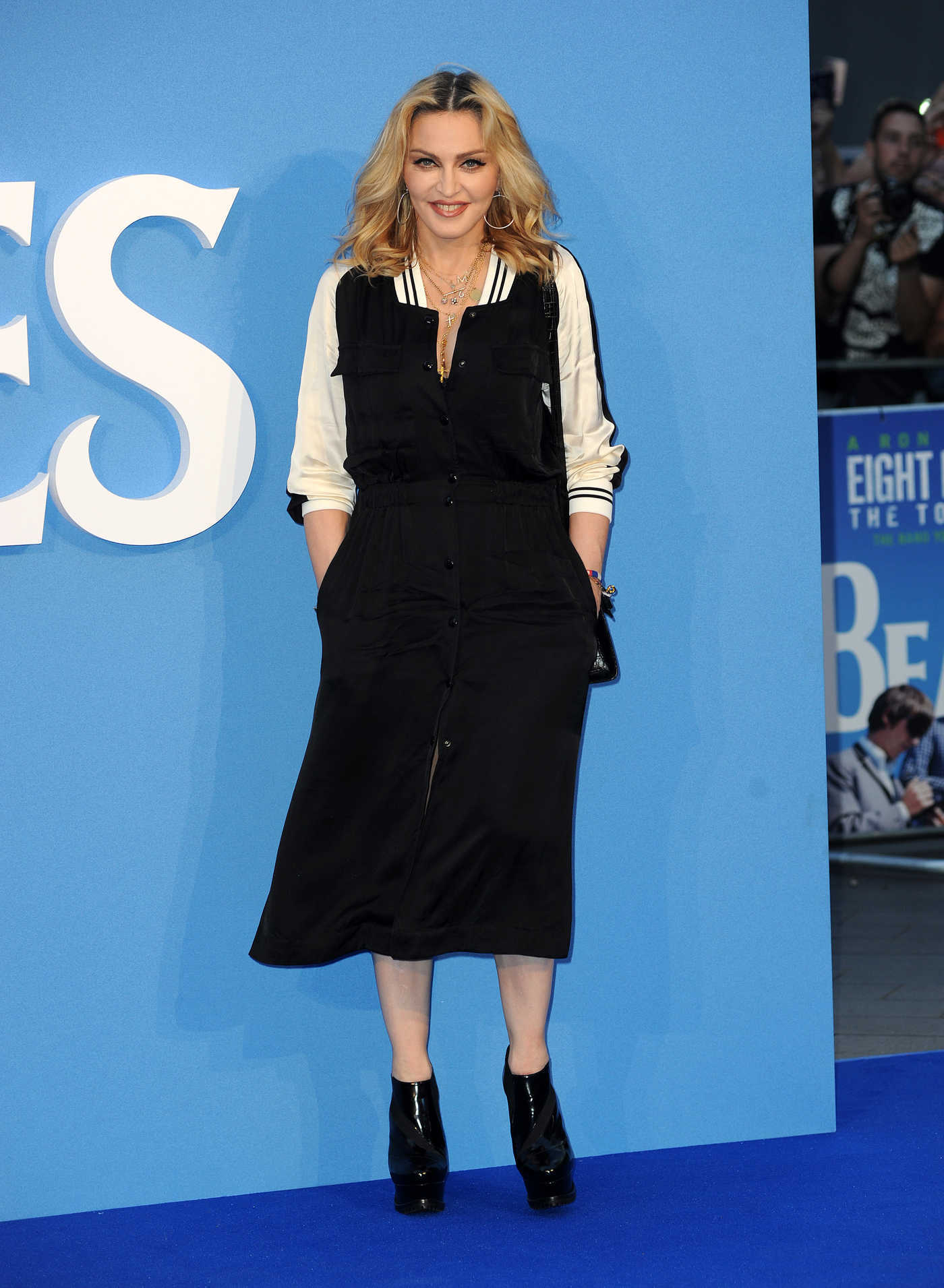 Madonna at The Beatles: Eight Days a Week - The Touring Years World Premiere in London 09/15/2016