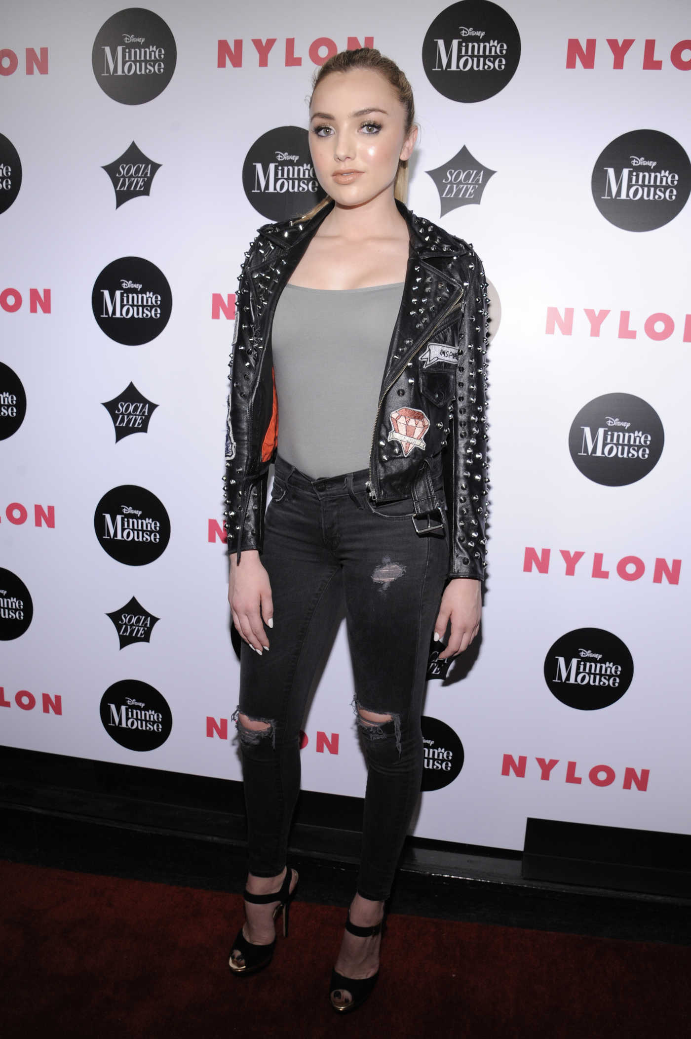 Peyton List at the NYLON Rebel Fashion Party in New York City 09/08/2016