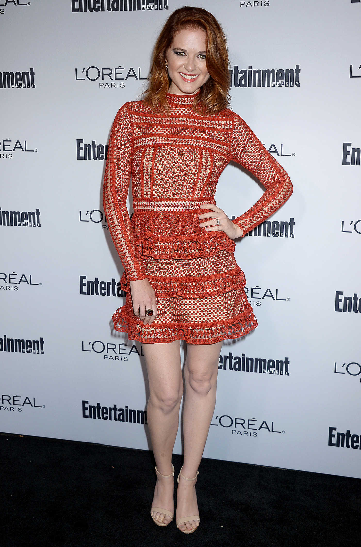 Sarah Drew at the Entertainment Weekly Pre-Emmy Party in Los Angeles 09/16/2016