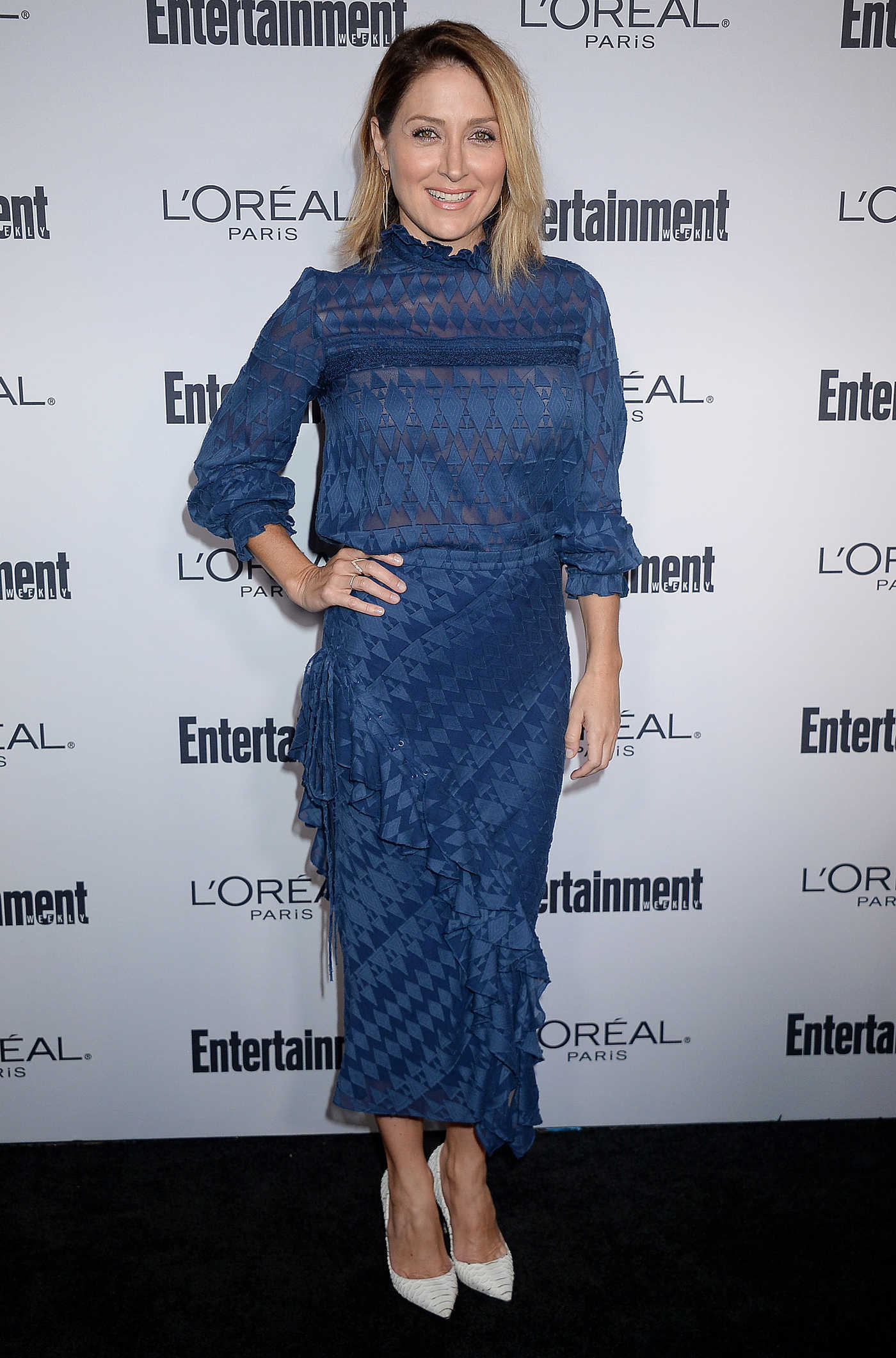 Sasha Alexander at the Entertainment Weekly Pre-Emmy Party in Los Angeles 09/16/2016