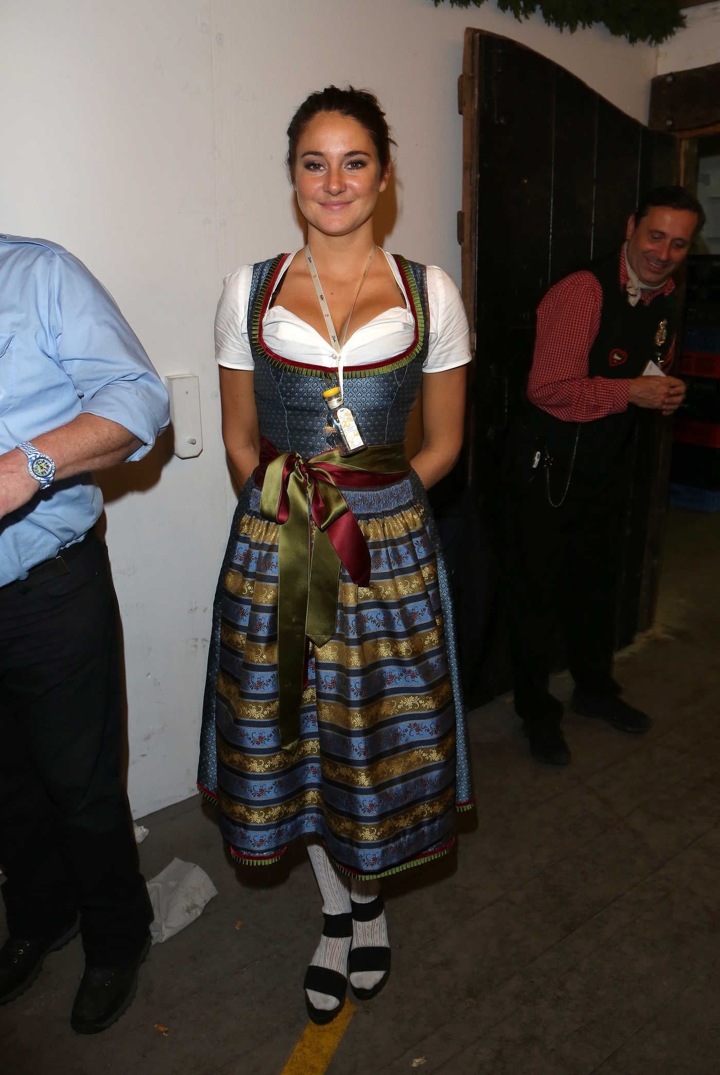 Shailene Woodley at Oktoberfest in Munich 09/20/2016