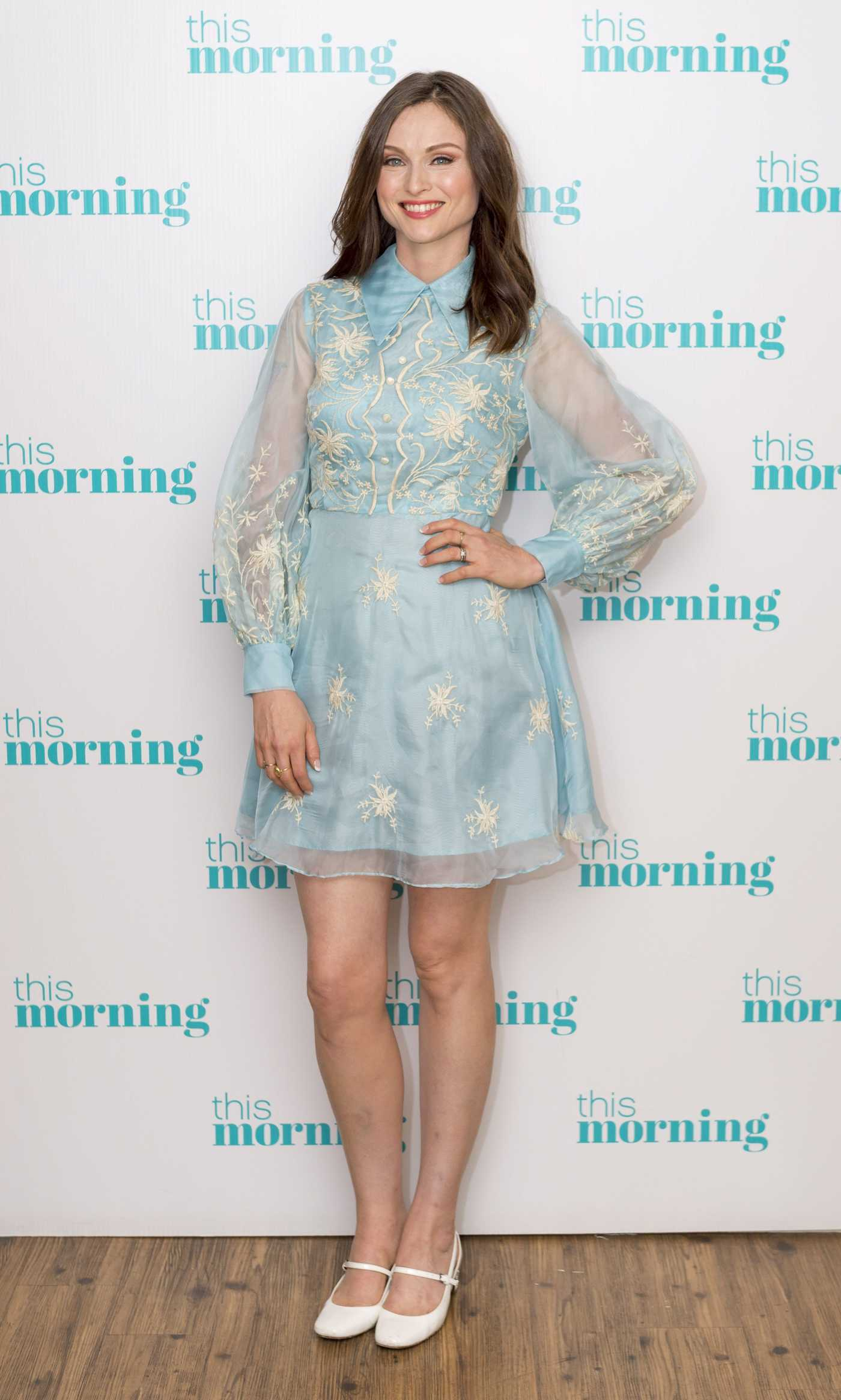 Sophie Ellis-Bextor at This Morning TV Show in London 09/20/2016