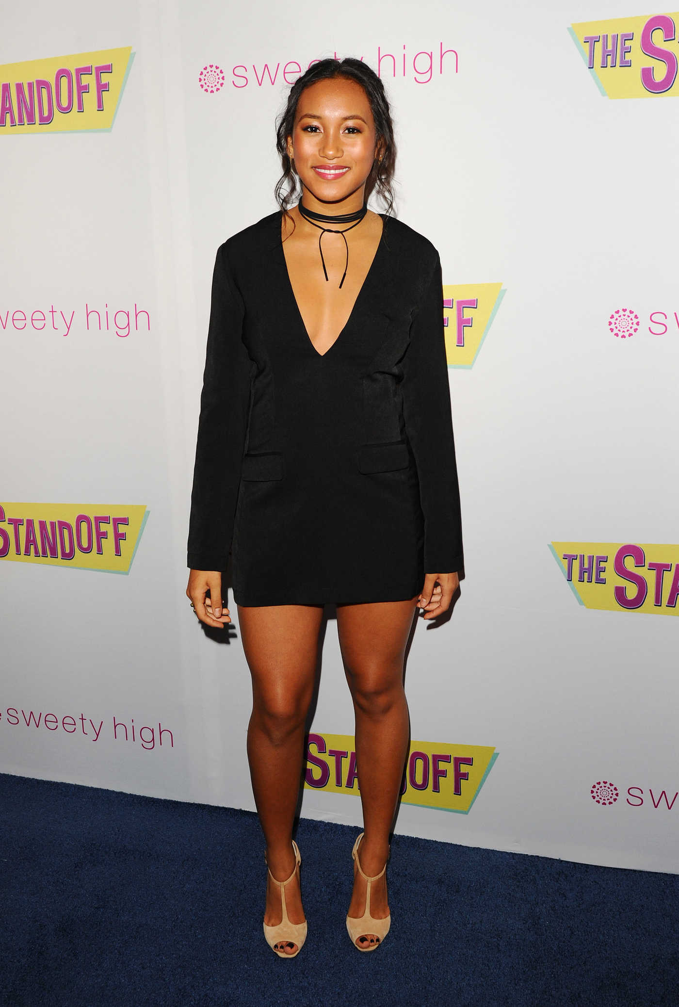 Sydney Park at The Standoff Premiere in Los Angeles 09/08/2016