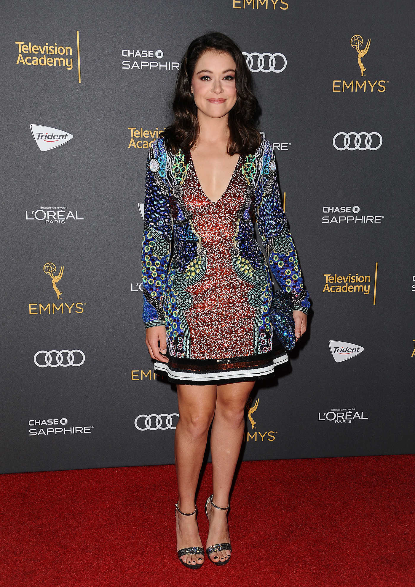 Tatiana Maslany at the Television Academy Reception for Emmy Nominees in West Hollywood 09/16/2016