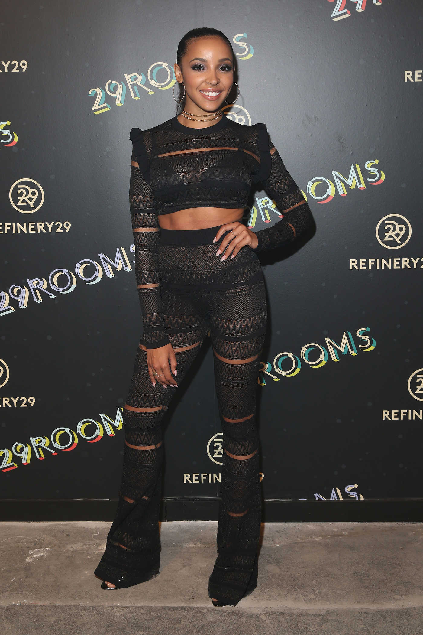 Tinashe at the 2nd Annual 29Rooms: Powered By People in New York City 09/08/2016