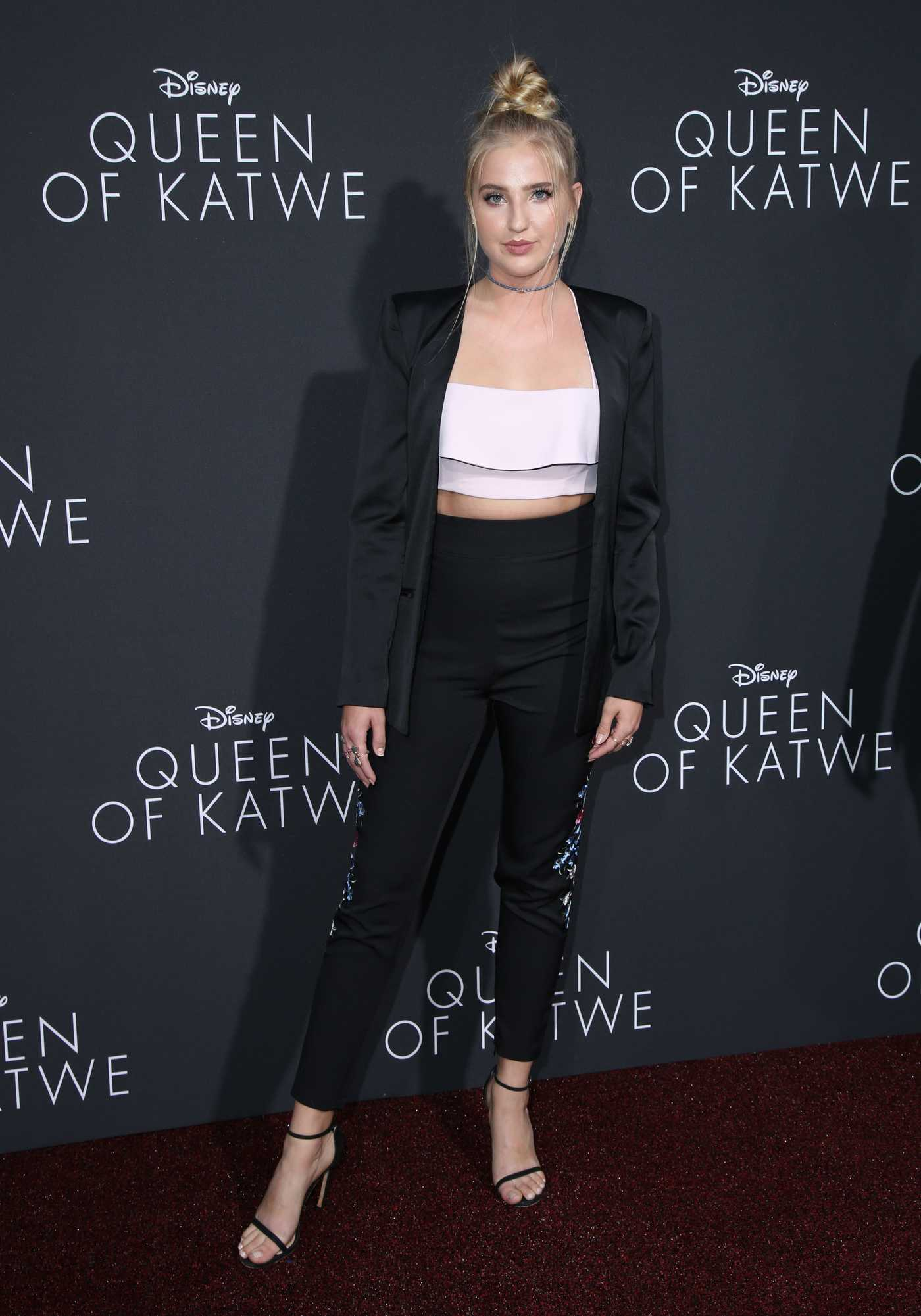 Veronica Dunne at the Queen of Katwe LA Premiere 09/21/2016
