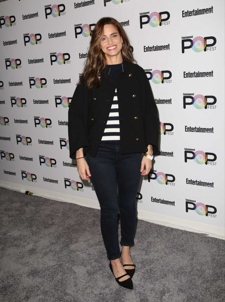 Amanda Peet at Entertainment Weekly's PopFest in Los Angeles 10/30/2016-1