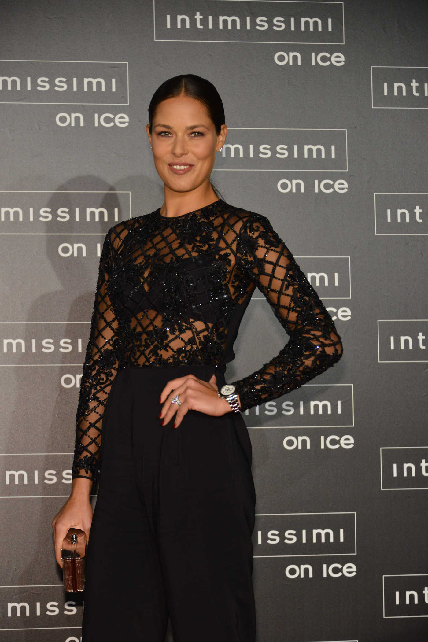 Ana Ivanovic Attends Intimissimi On Ice at Arena in Verona 10/07/2016