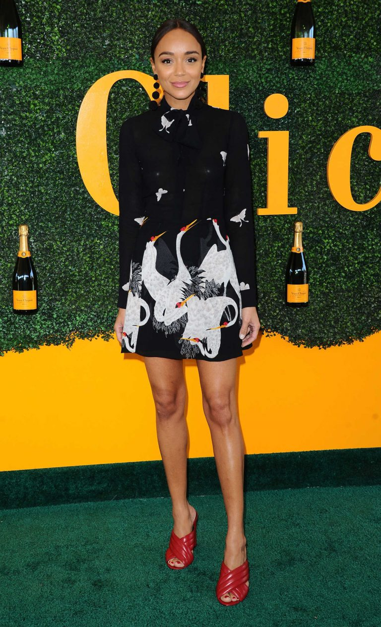 Ashley Madekwe at the 7th Annual Veuve Clicquot Polo Classic in Pacific Palisades 10/15/2016-1