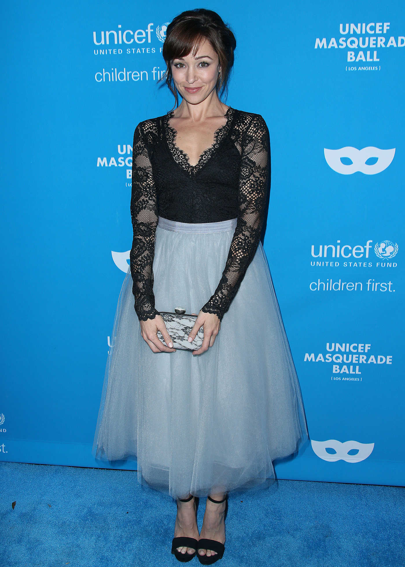 Autumn Reeser at the 2016 UNICEF Masquerade Ball in Los Angeles 10/27/2016