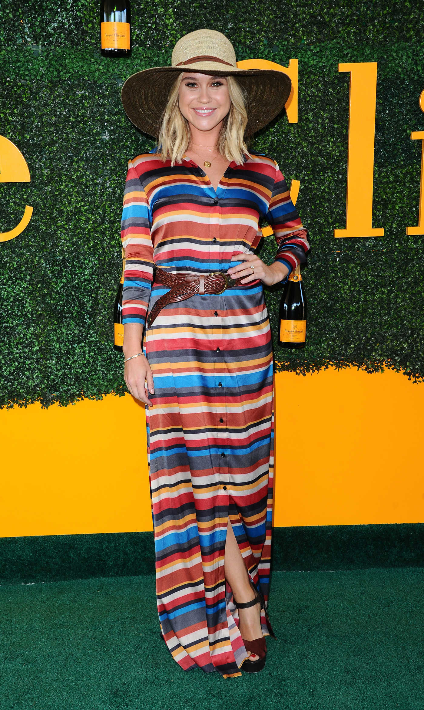 Becca Tobin at the 7th Annual Veuve Clicquot Polo Classic in Pacific Palisades 10/15/2016