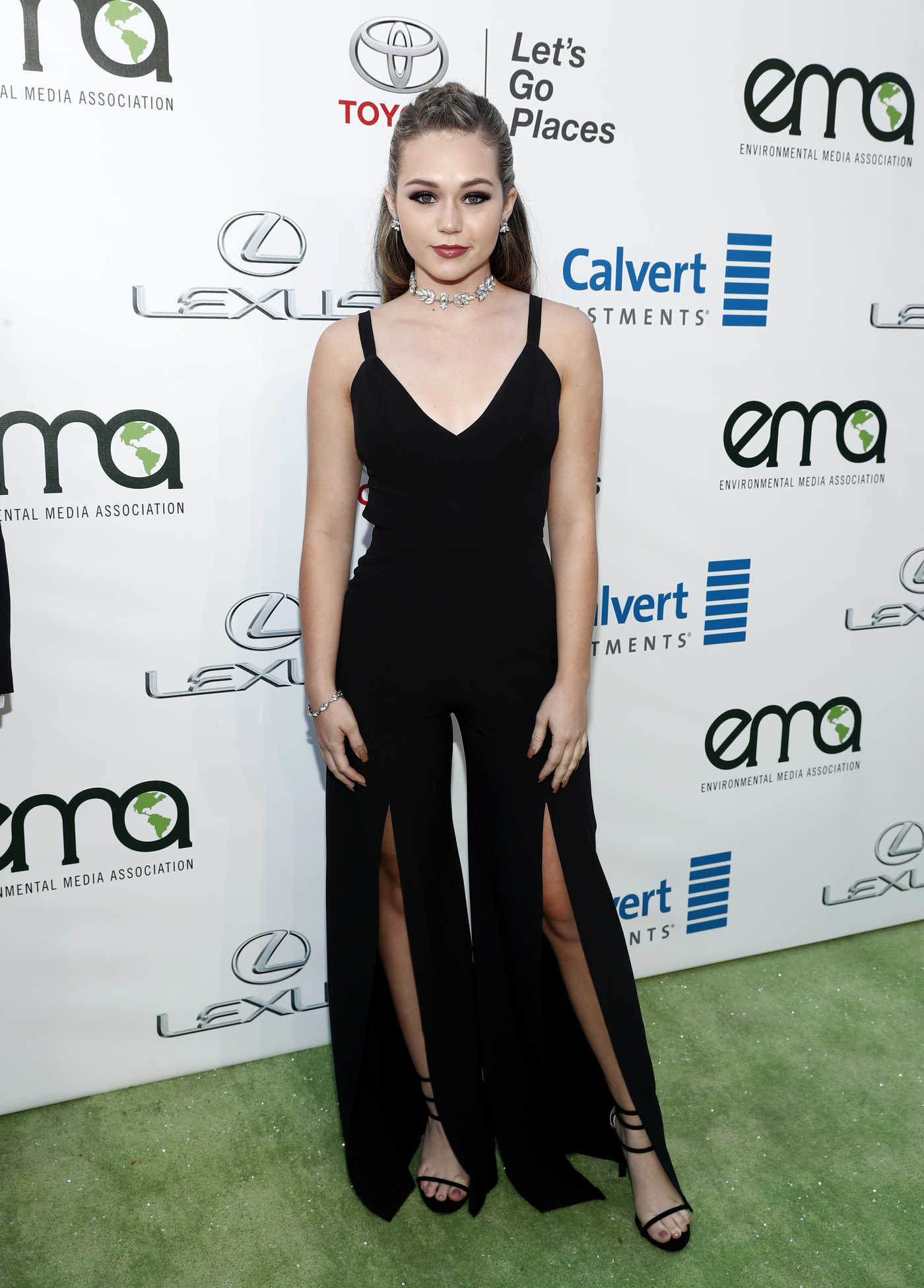 Brec Bassinger at the 26th Annual EMA Awards in Burbank 10/22/2016
