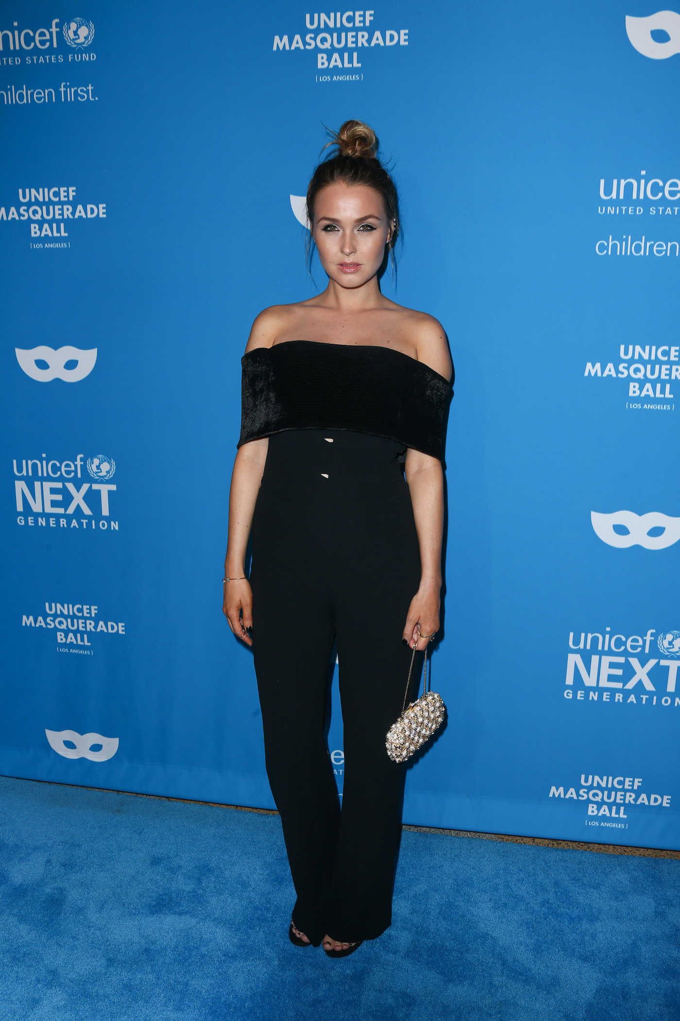 Camilla Luddington at the 2016 UNICEF Masquerade Ball in Los Angeles 10/27/2016