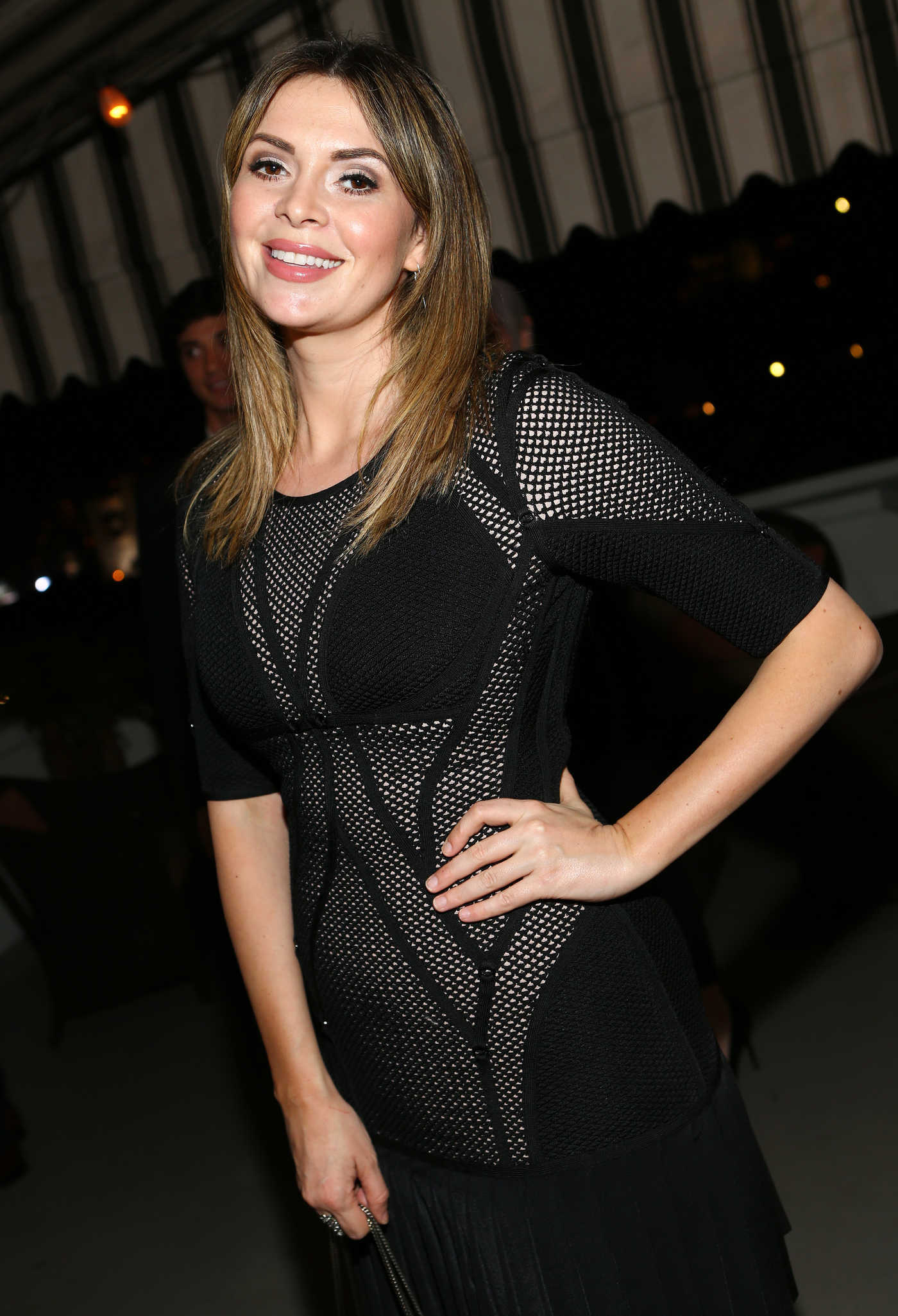 Carly Steel at the Vanity Fair and Burberry Pre-Awards Celebration in Los Angeles 10/27/2016