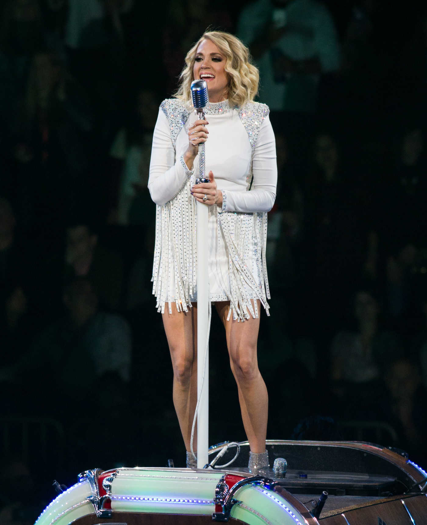 Carrie Underwood Performs During The Storyteller Tour at Madison Square Garden in New York 10/25/2016