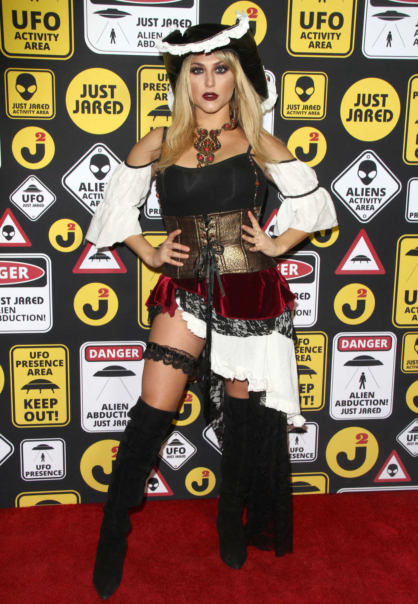 Cassie Scerbo at the Just Jared Annual Halloween Party in Los Angeles 10/30/2016