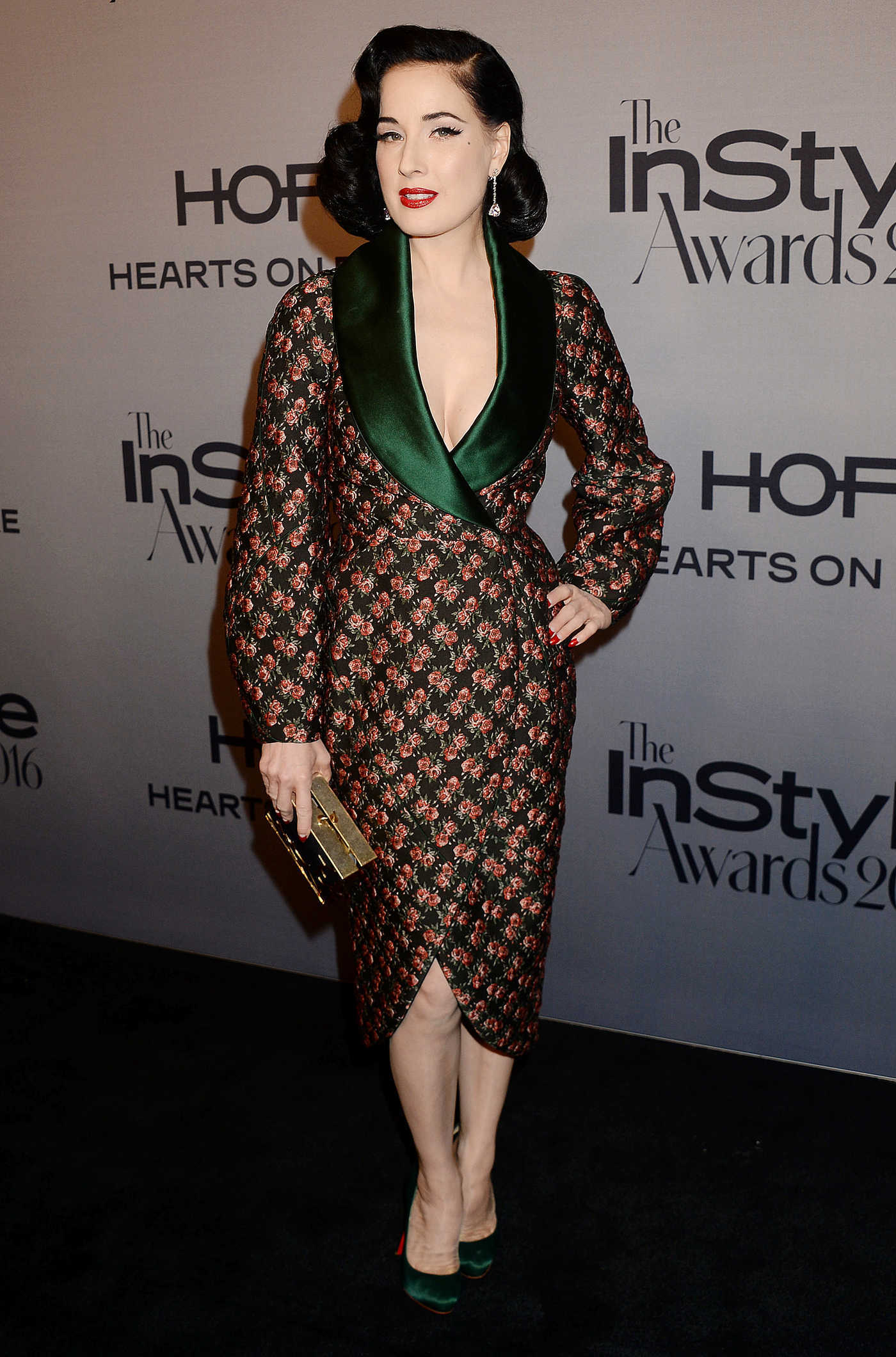 Dita Von Teese at the Instyle Awards 2016 in Los Angeles 10/24/2016