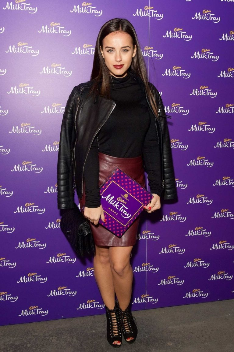 Georgia May Foote at the New Cadbury Milk Tray Man Advert Launch in London 10/06/2016-1