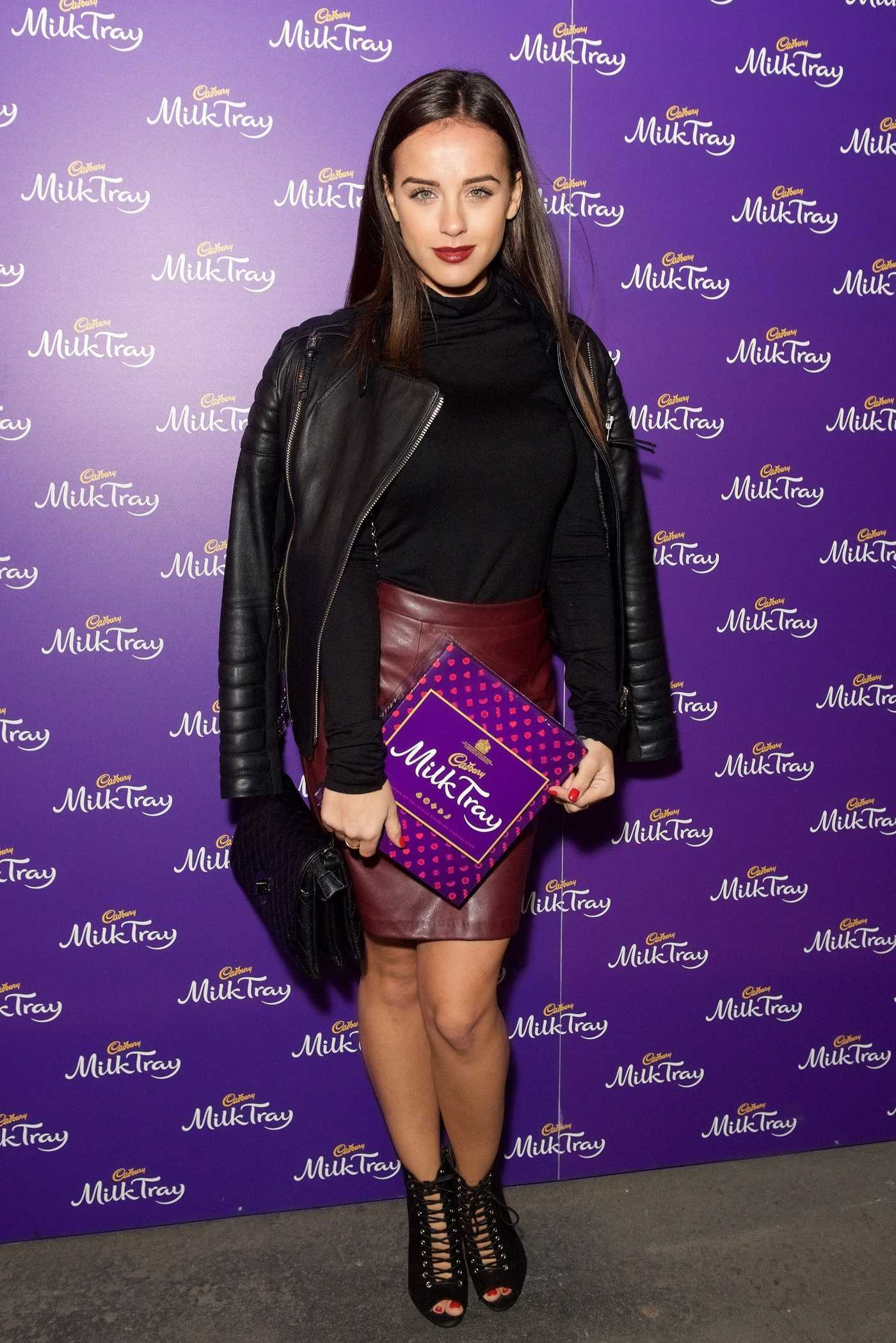 Georgia May Foote at the New Cadbury Milk Tray Man Advert Launch in London 10/06/2016