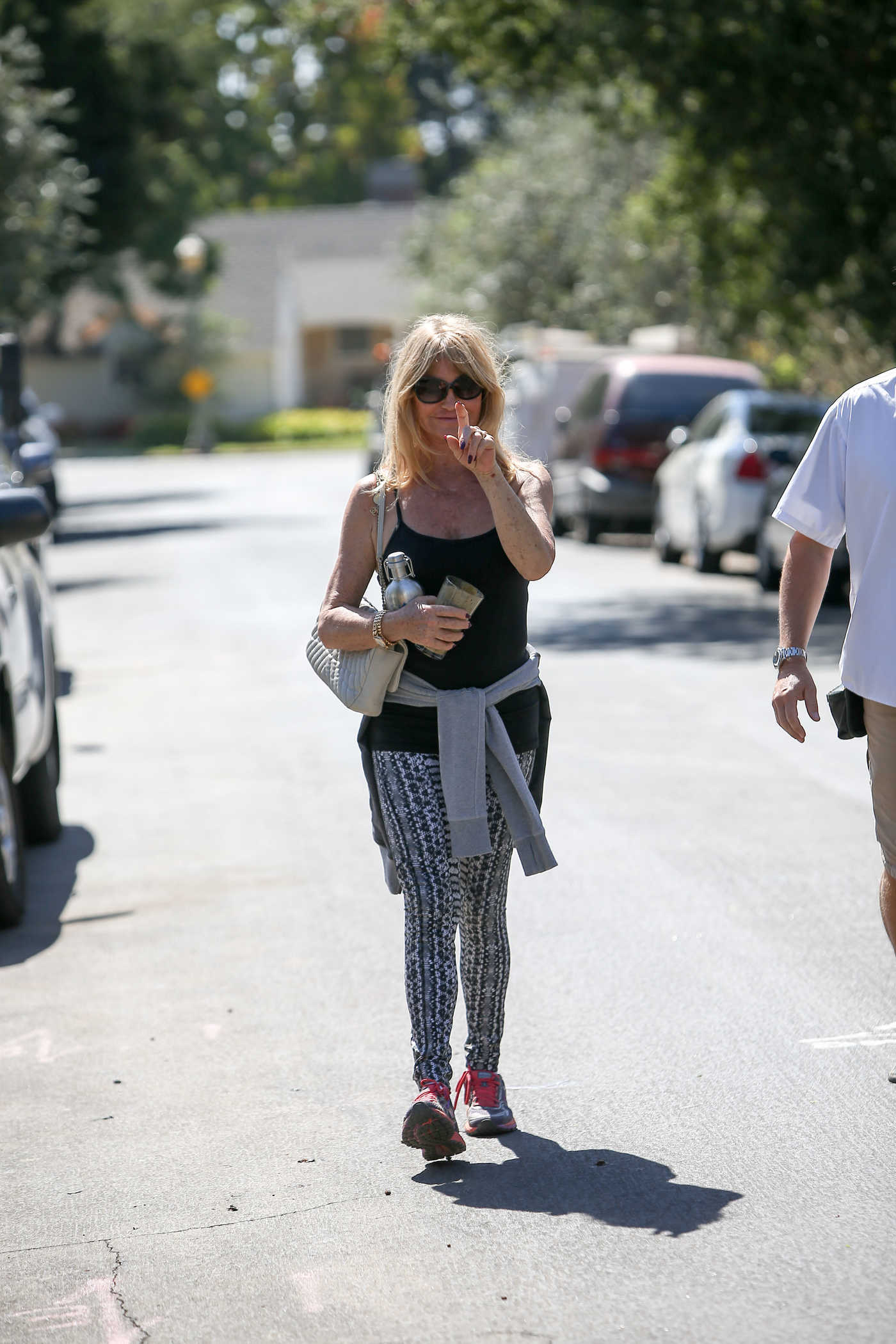 Goldie Hawn Was Seen Out in LA 10/06/2016