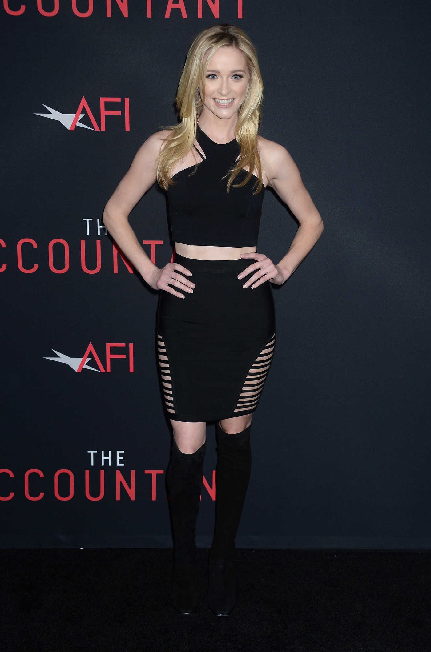 Greer Grammer at The Accountant Premiere in Hollywood 10/10/2016