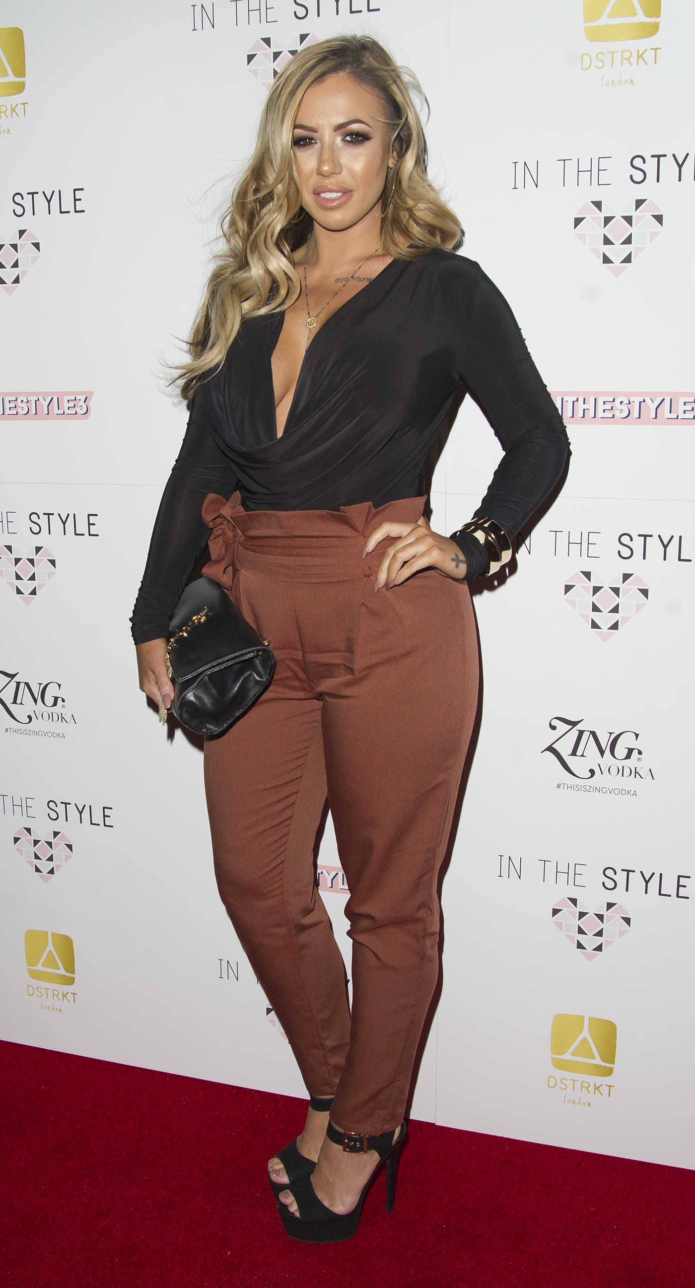 Holly Hagan at In The Style AW16 Launch Event in London 10/06/2016