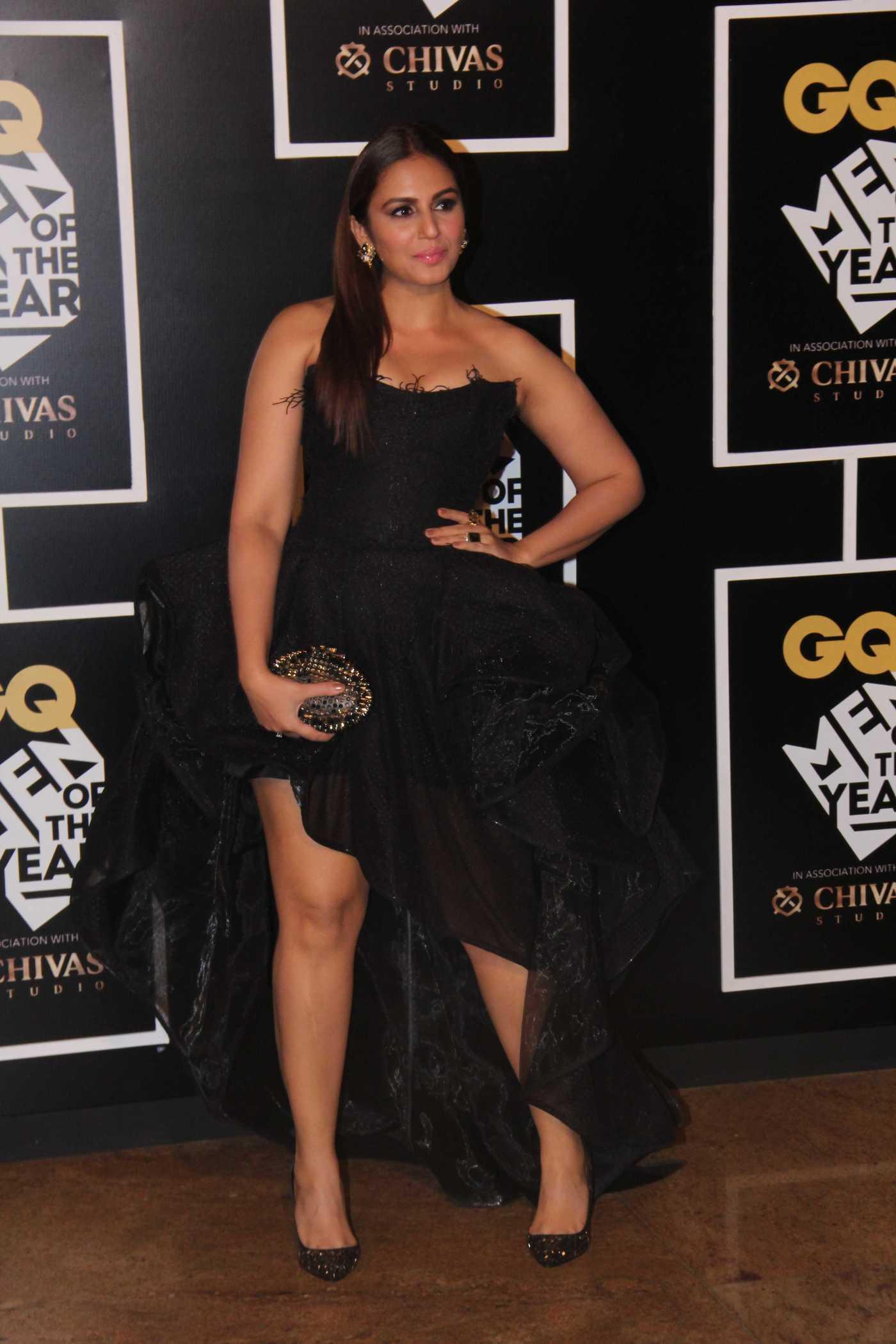 Huma Qureshi at the GQ India's Men of the Year Awards in Mumbai 09/27/2016