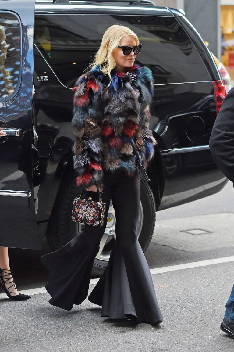 Jessica Simpson Was Seen Out in Manhattan 10/25/2016-1