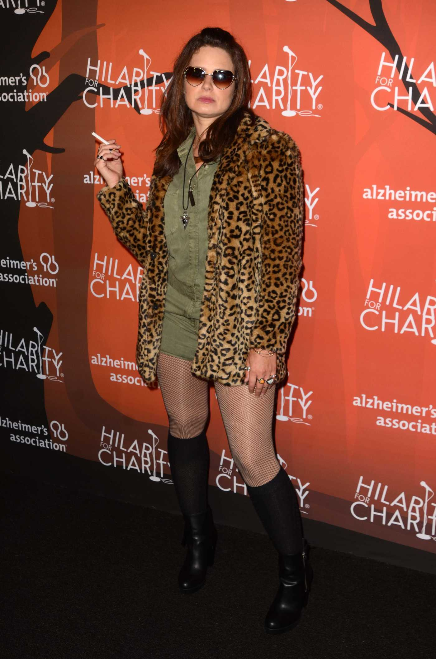 Katie Lowes at the Hilarity for Charity's 5th Annual Variety Show in Los Angeles 10/15/2016