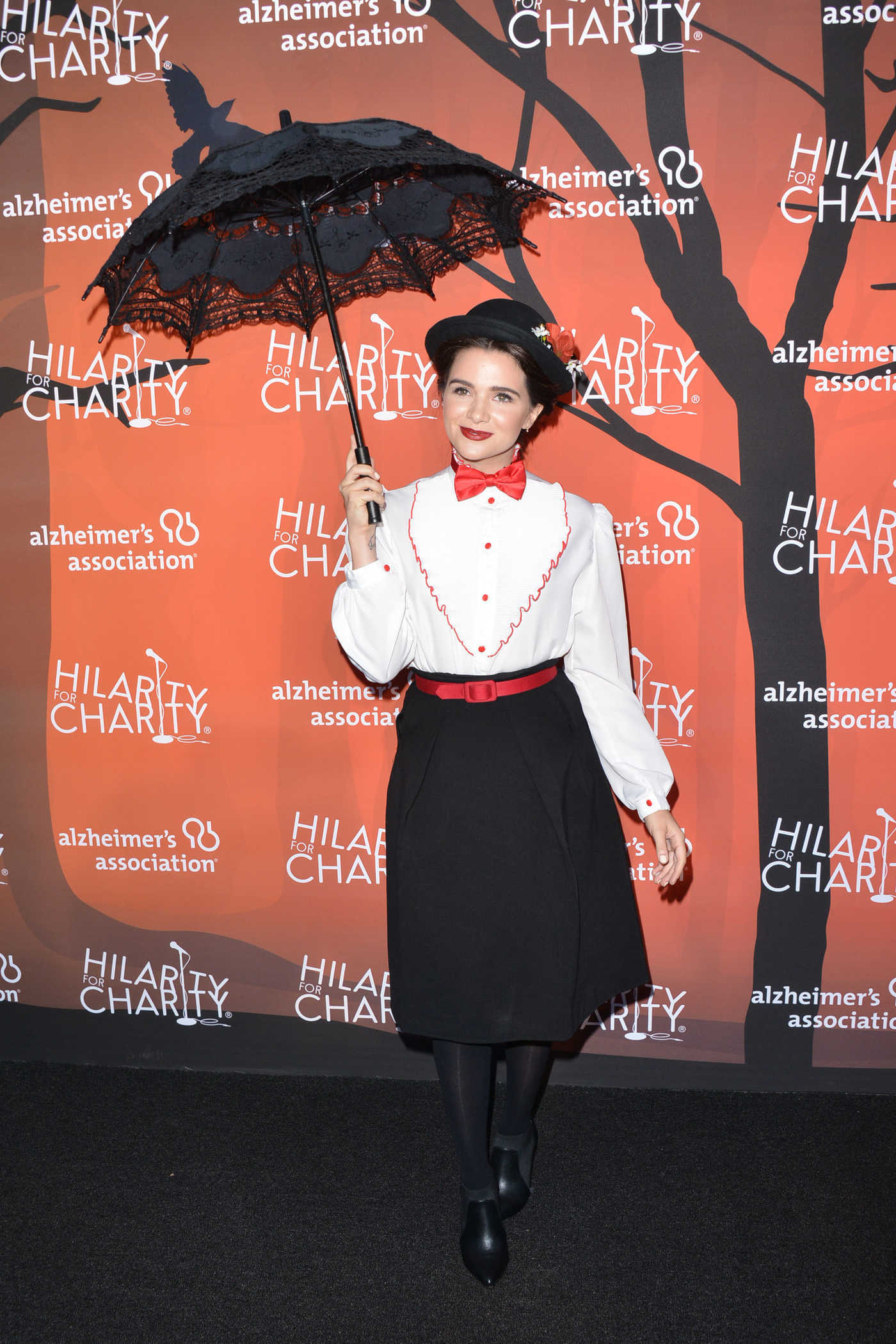 Katie Stevens at the Hilarity for Charity's 5th Annual Variety Show in Los Angeles 10/15/2016