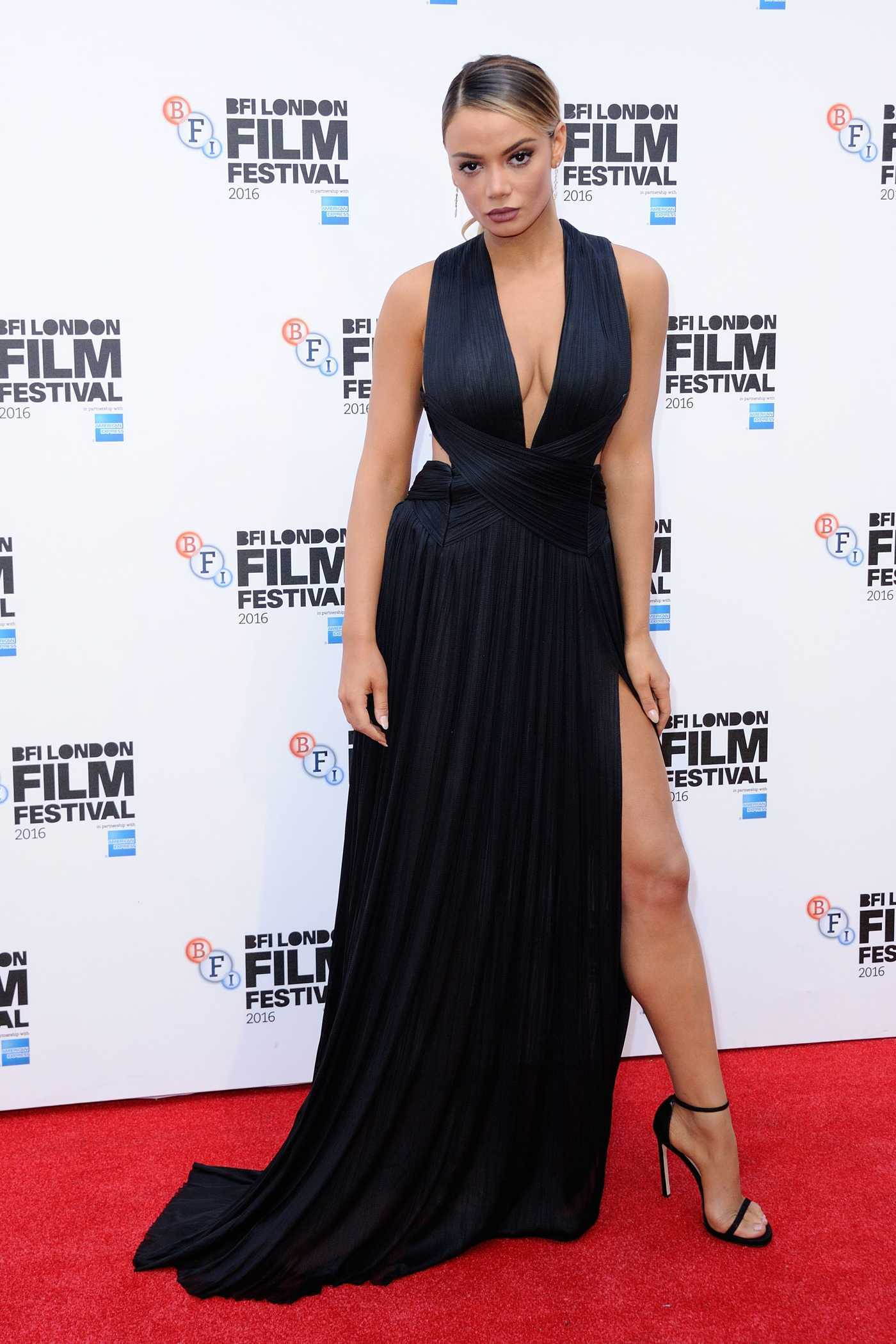 Keleigh Sperry at the Bleed for This Premiere During the London Film Festival 10/09/2016