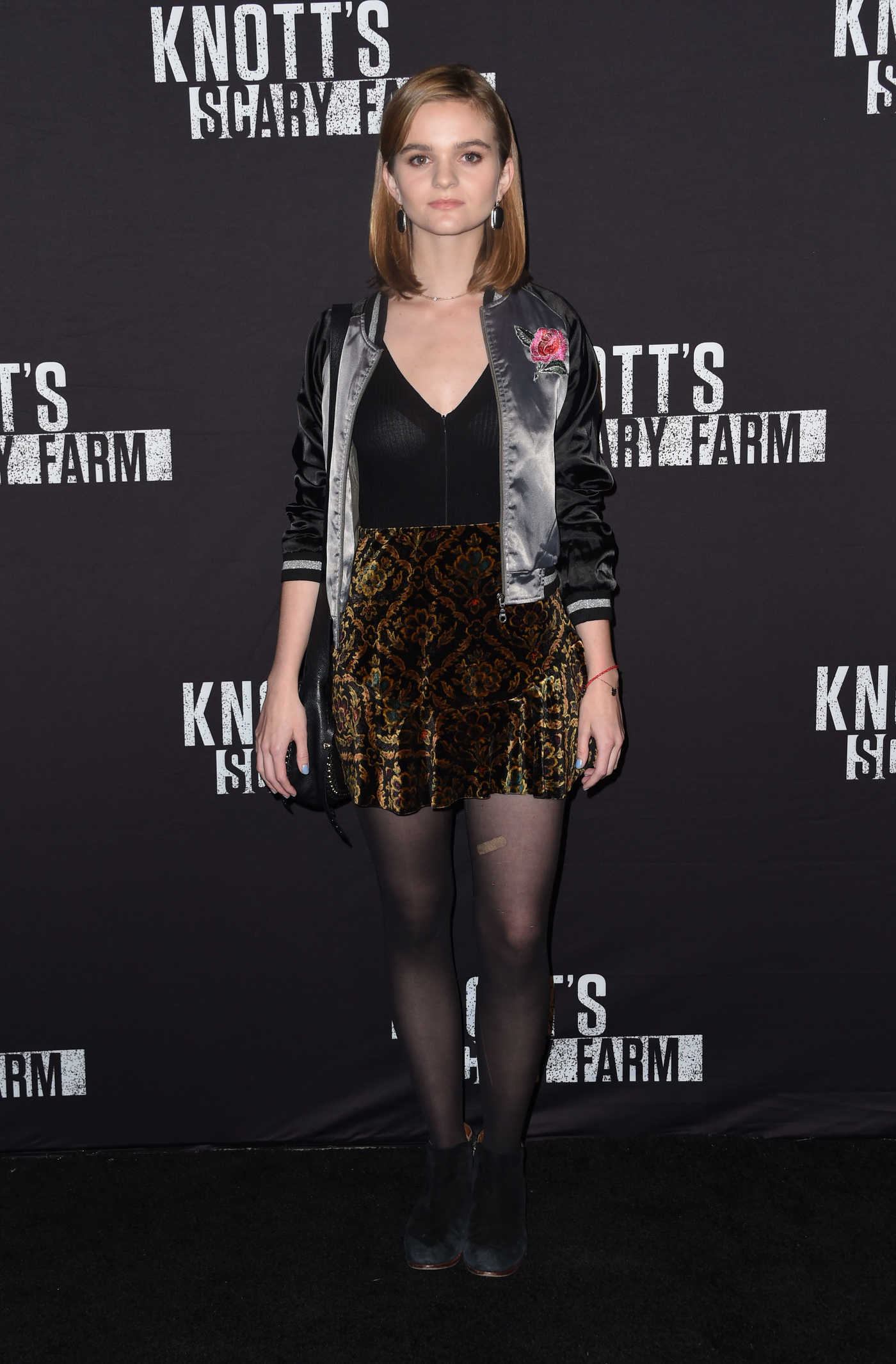 Kerris Dorsey at the Knott's Scary Farm Opening Night in Buena Park 09/30/2016