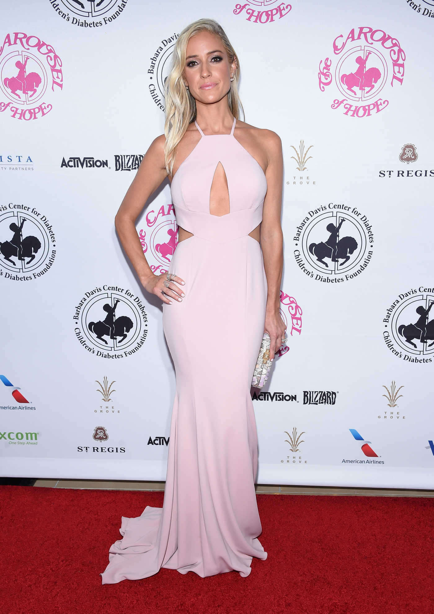Kristin Cavallari at the Carousel of Hope Ball in Beverly Hills 10/08/2016