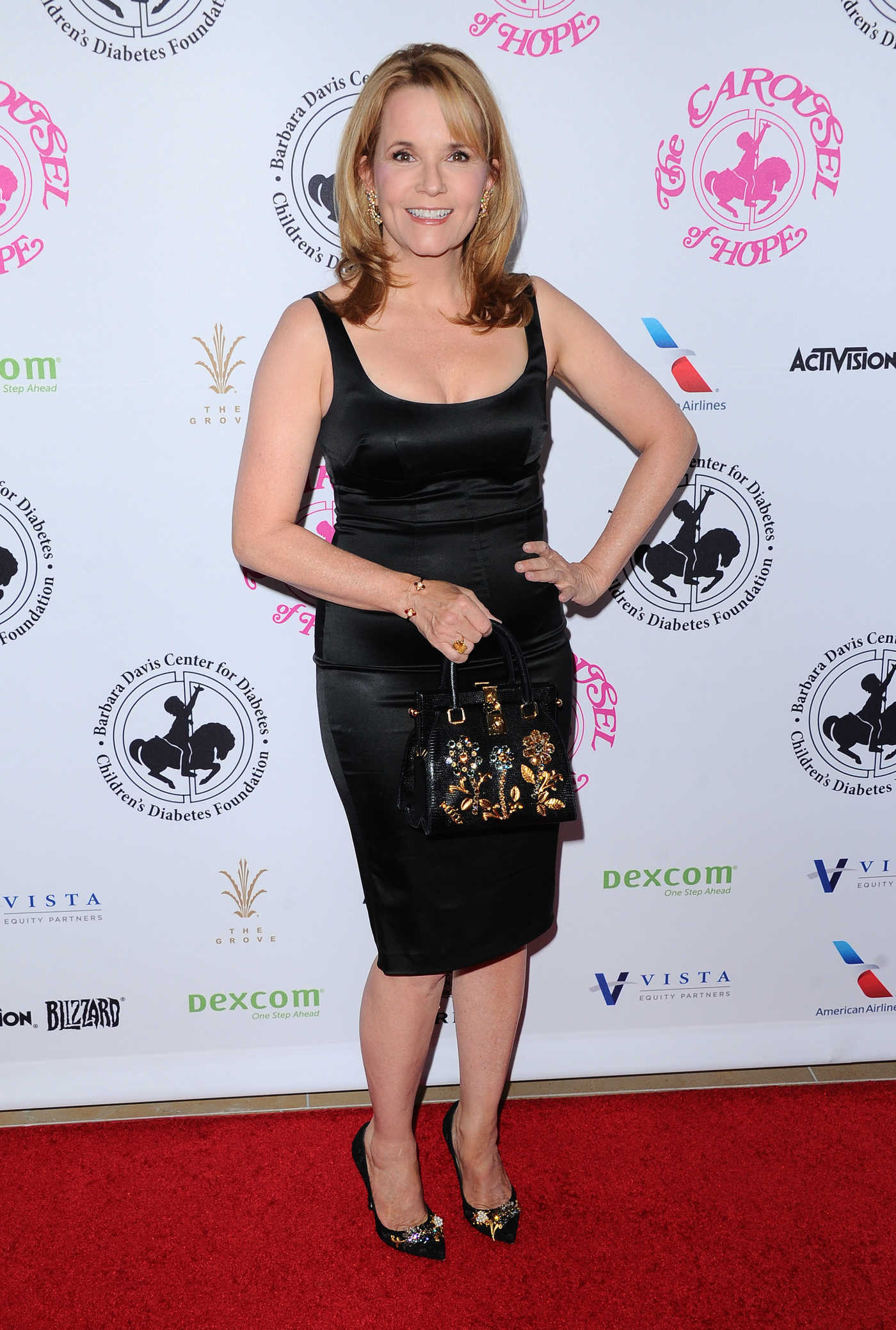 Lea Thompson at the Carousel of Hope Ball in Beverly Hills 10/08/2016